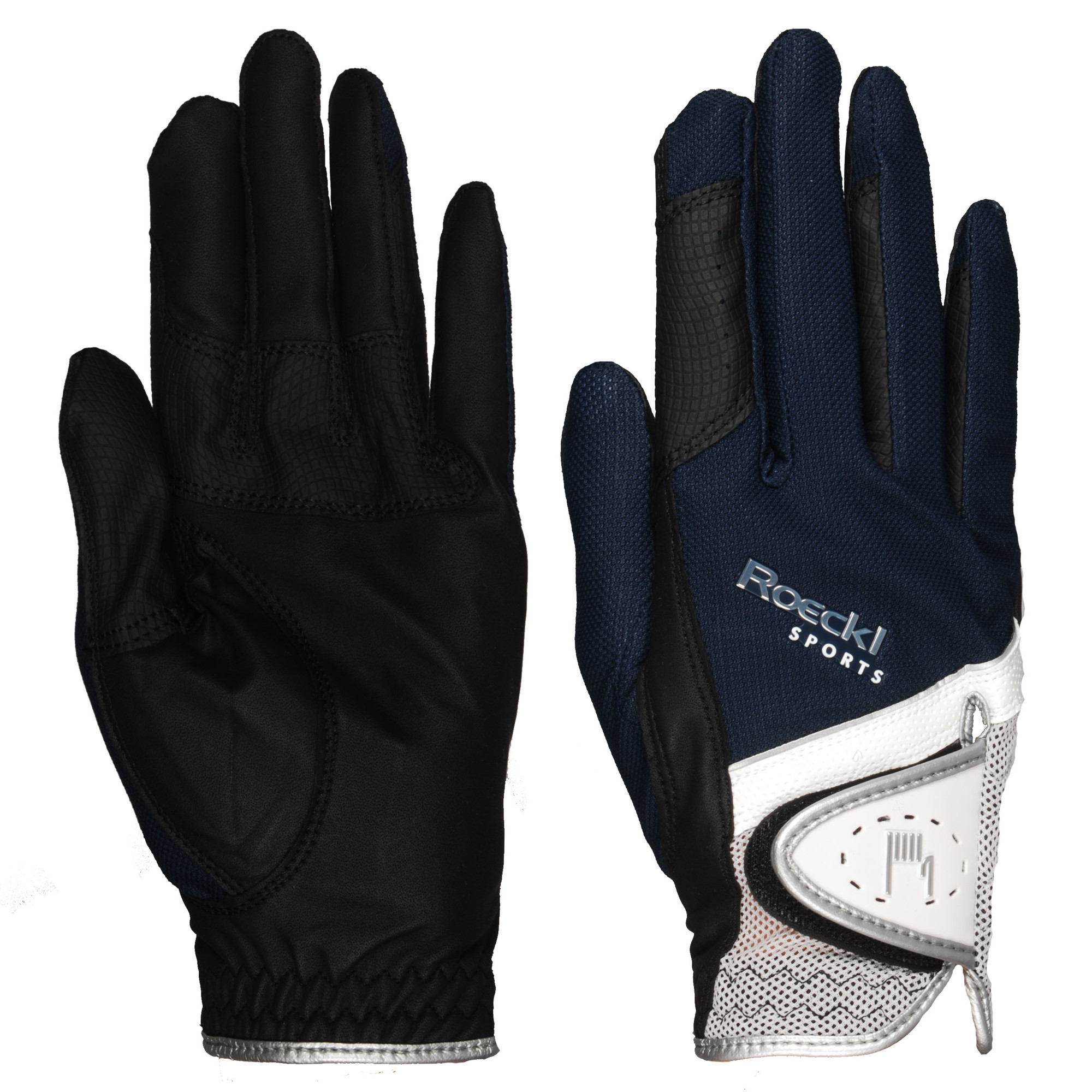 Roeckl Madrid handschoenen donkerblauw maat:8