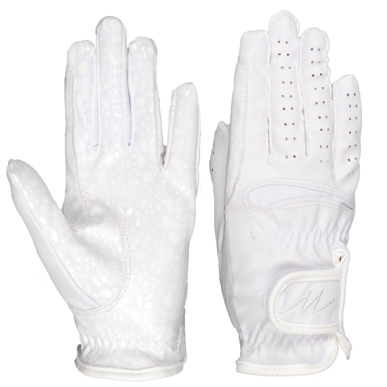 Mondoni Santiago handschoenen wit maat:s