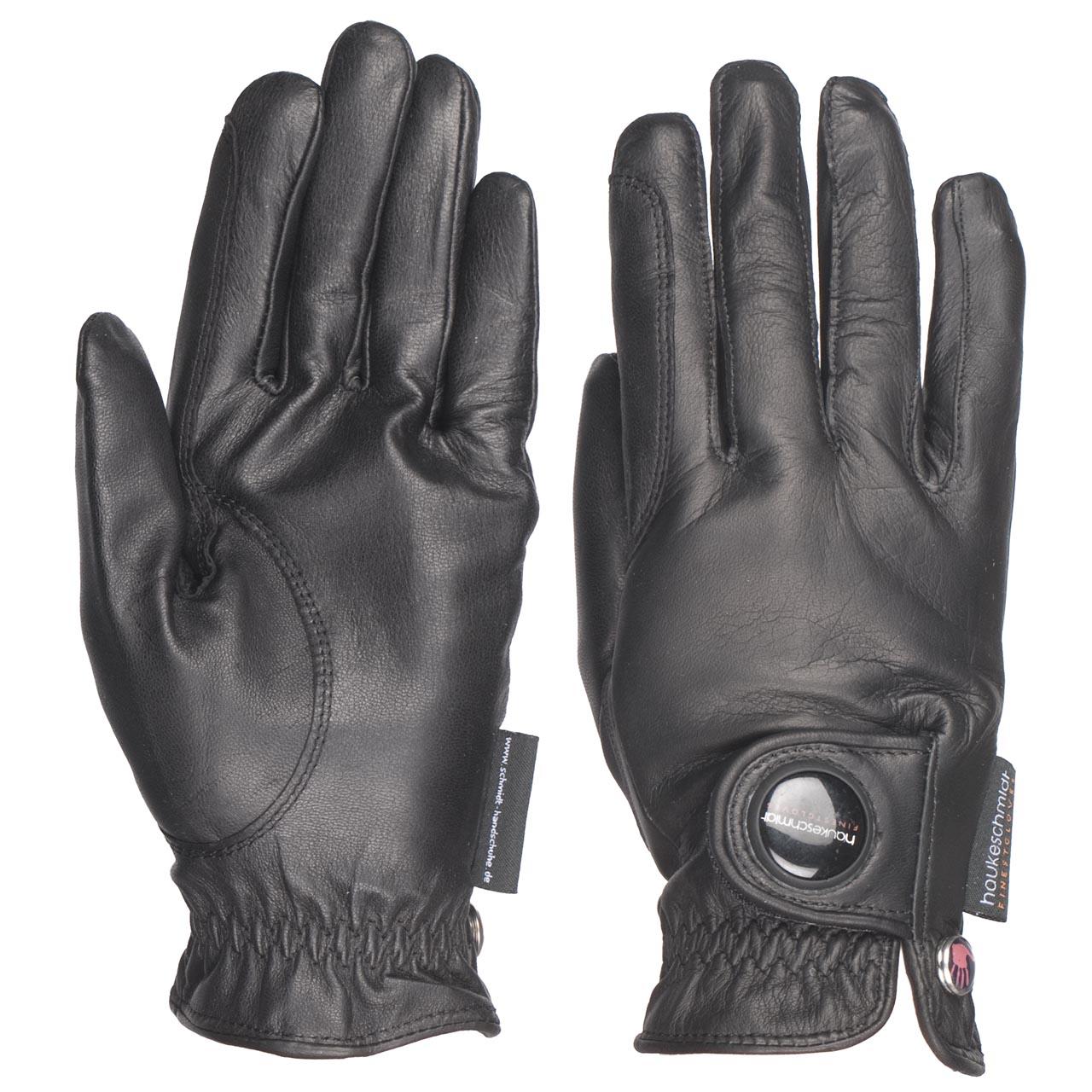 Hauke Schmidt Finest handschoenen zwart maat:7