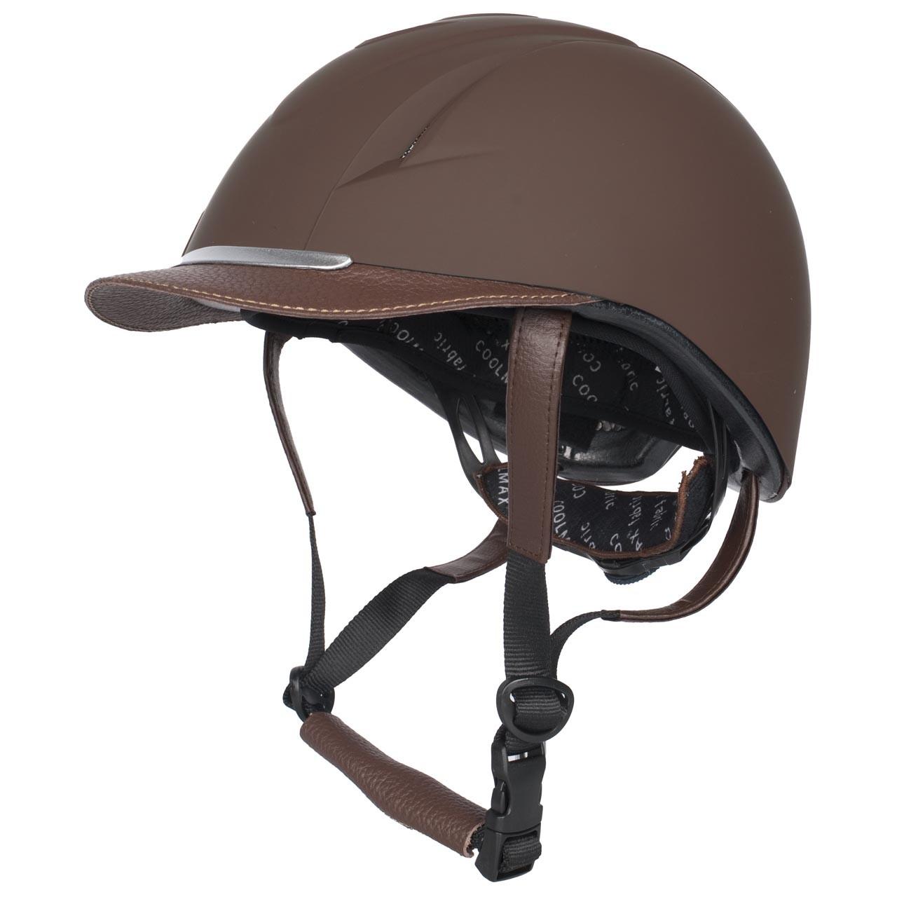 Harrys Horse Challenge II cap bruin maat:xs/s