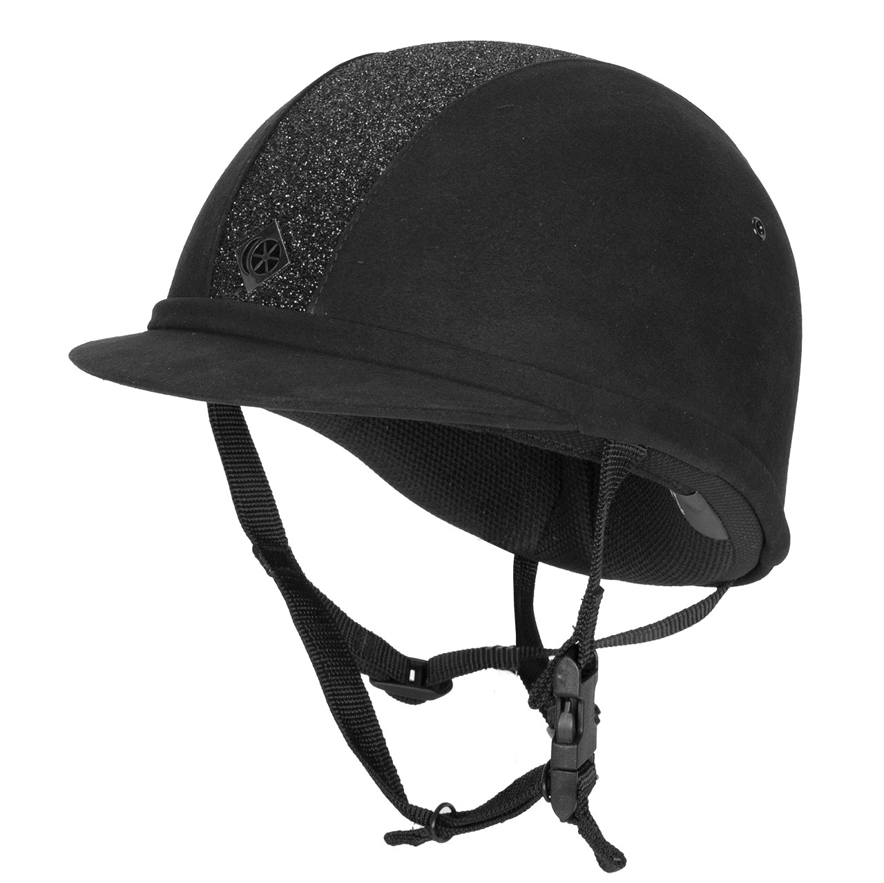 Charles Owen YR8 cap zwart/zwart maat:58