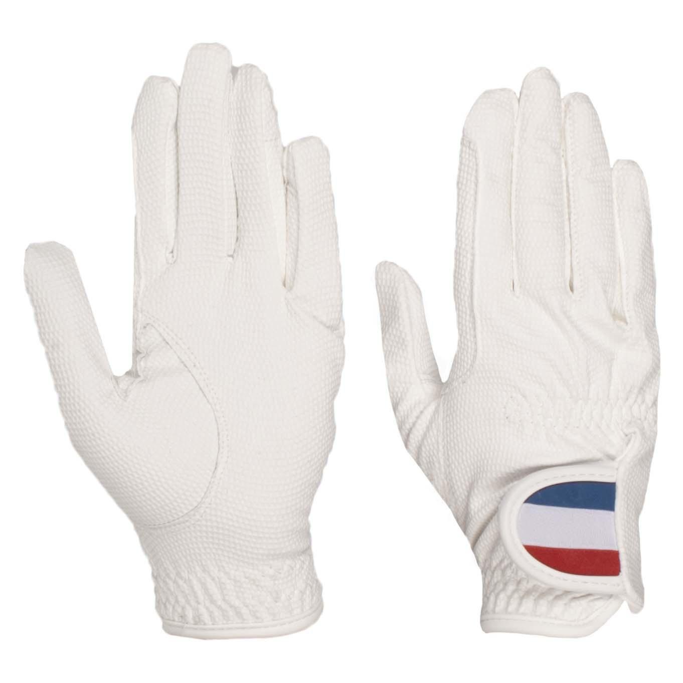 Mondoni Netherlands handschoenen wit maat:5