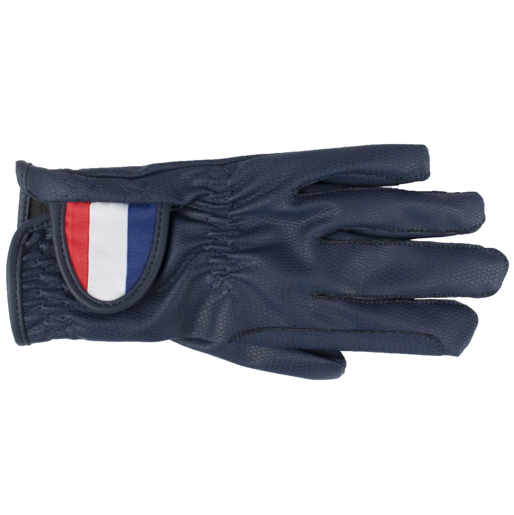 Mondoni Netherlands handschoenen donkerblauw maat:8