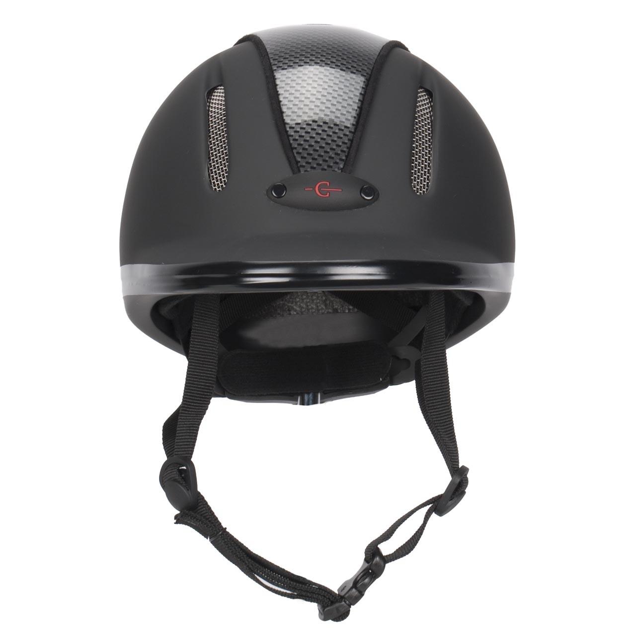 Covalliero Carbonic VG1 cap zwart maat:l-xl