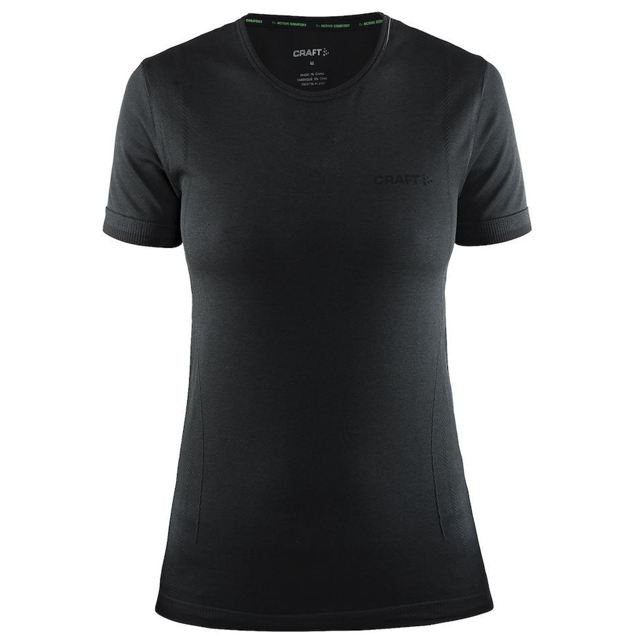 Craft Be Active Comfort Tshirt zwart maat:m