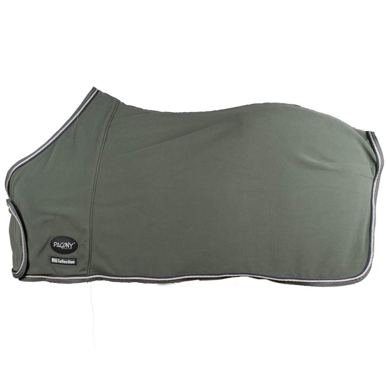 Pagony Pro showfleece deken grijs maat:185