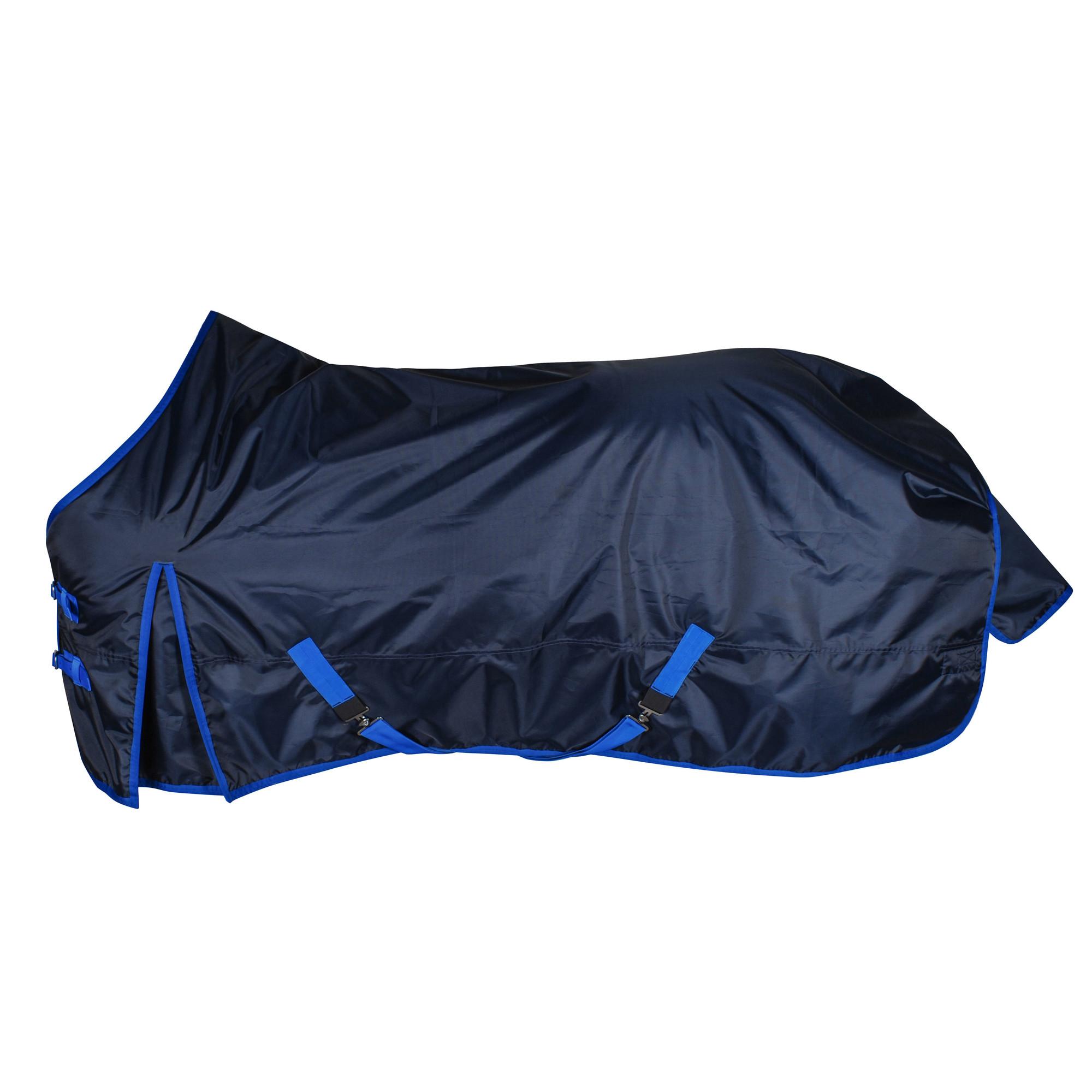 Budget Rider 200gr outdoordeken donkerblauw maat:215