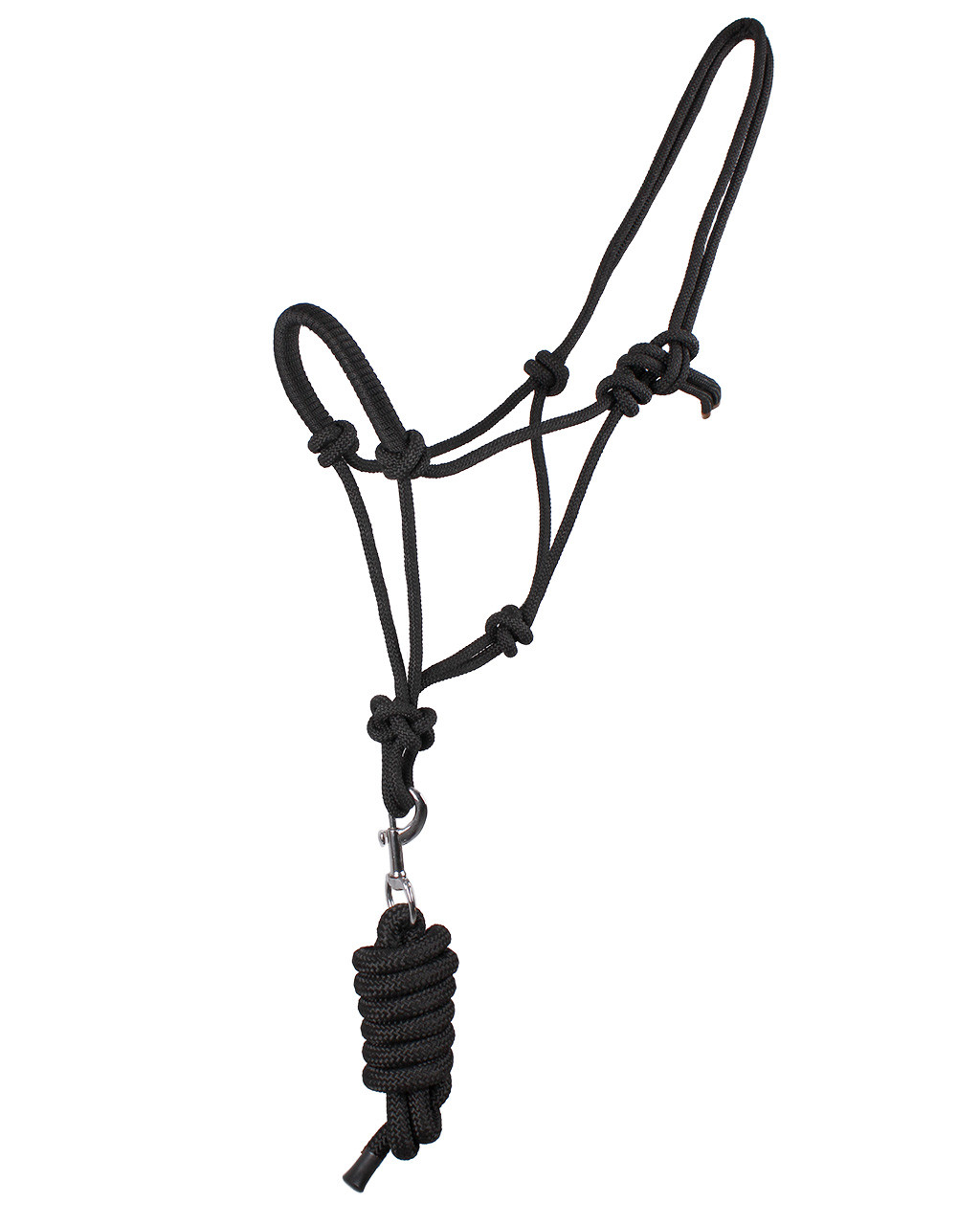 QHP Touwhalster zwart maat:cob