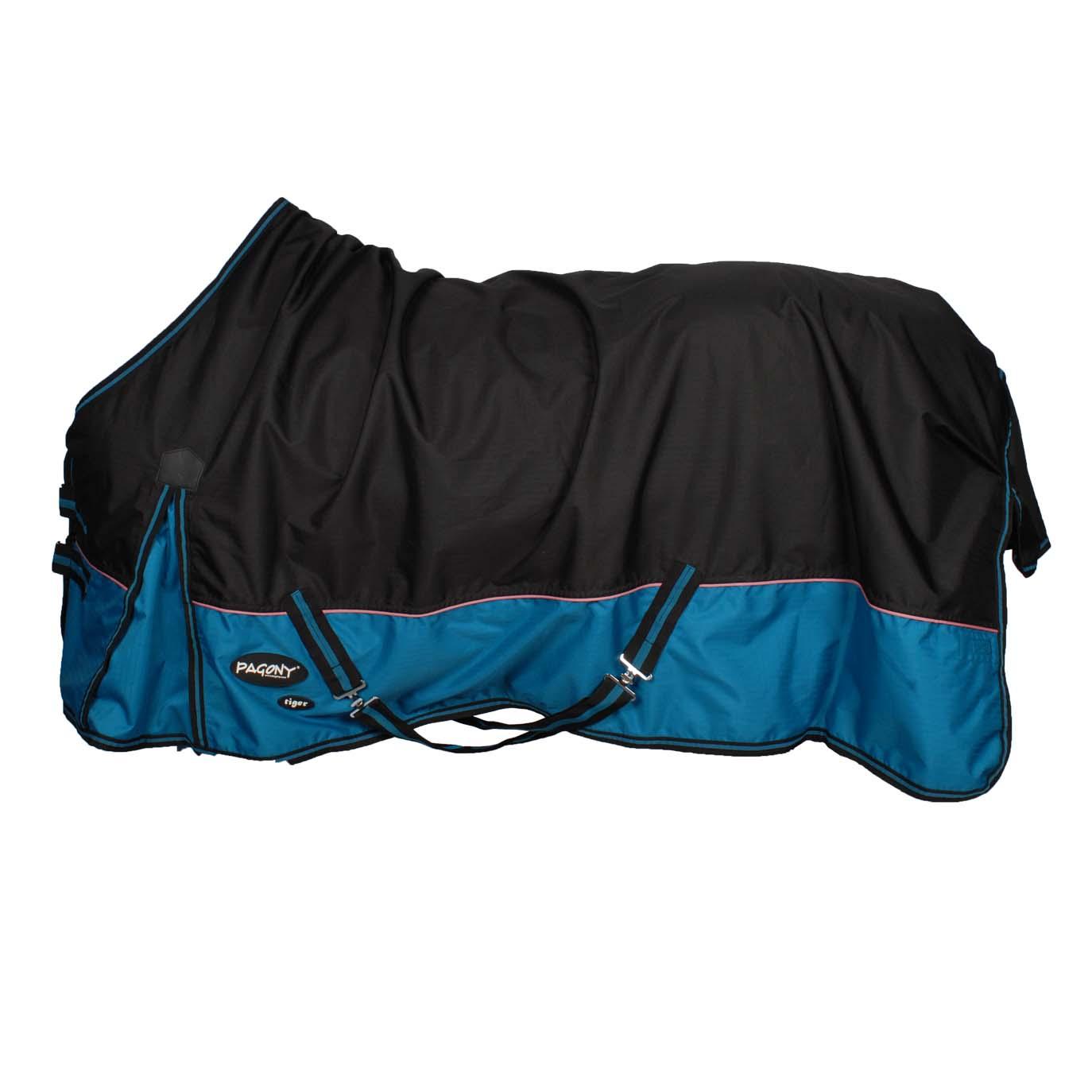 Pagony Tiger 200gr outdoor deken zwart maat:175