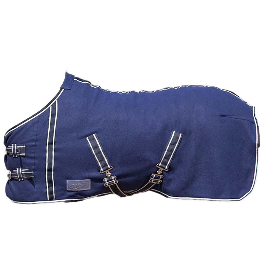 QHP Deken fleece falabella blauw maat:90