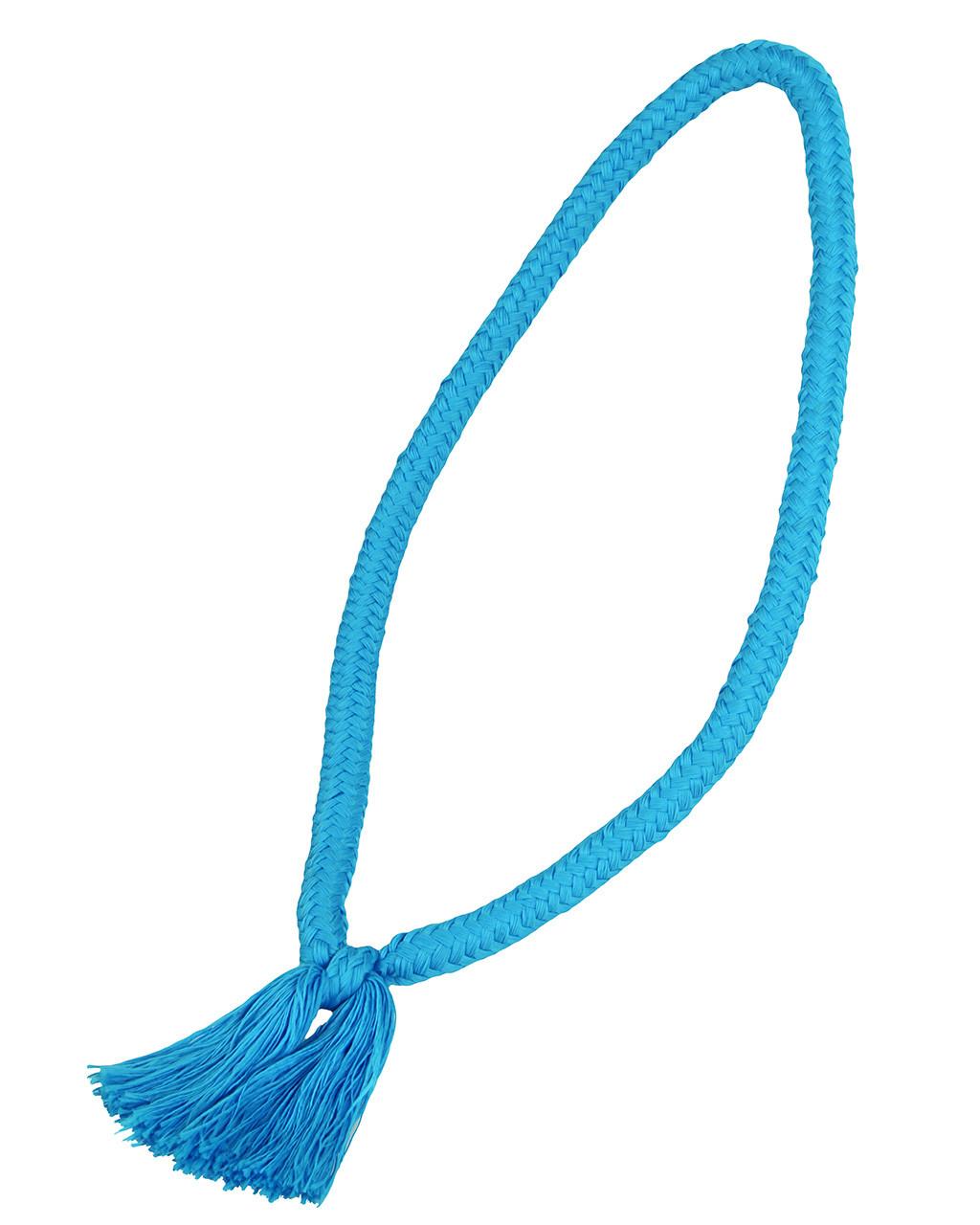 QHP Halstouw lichtblauw maat:pony