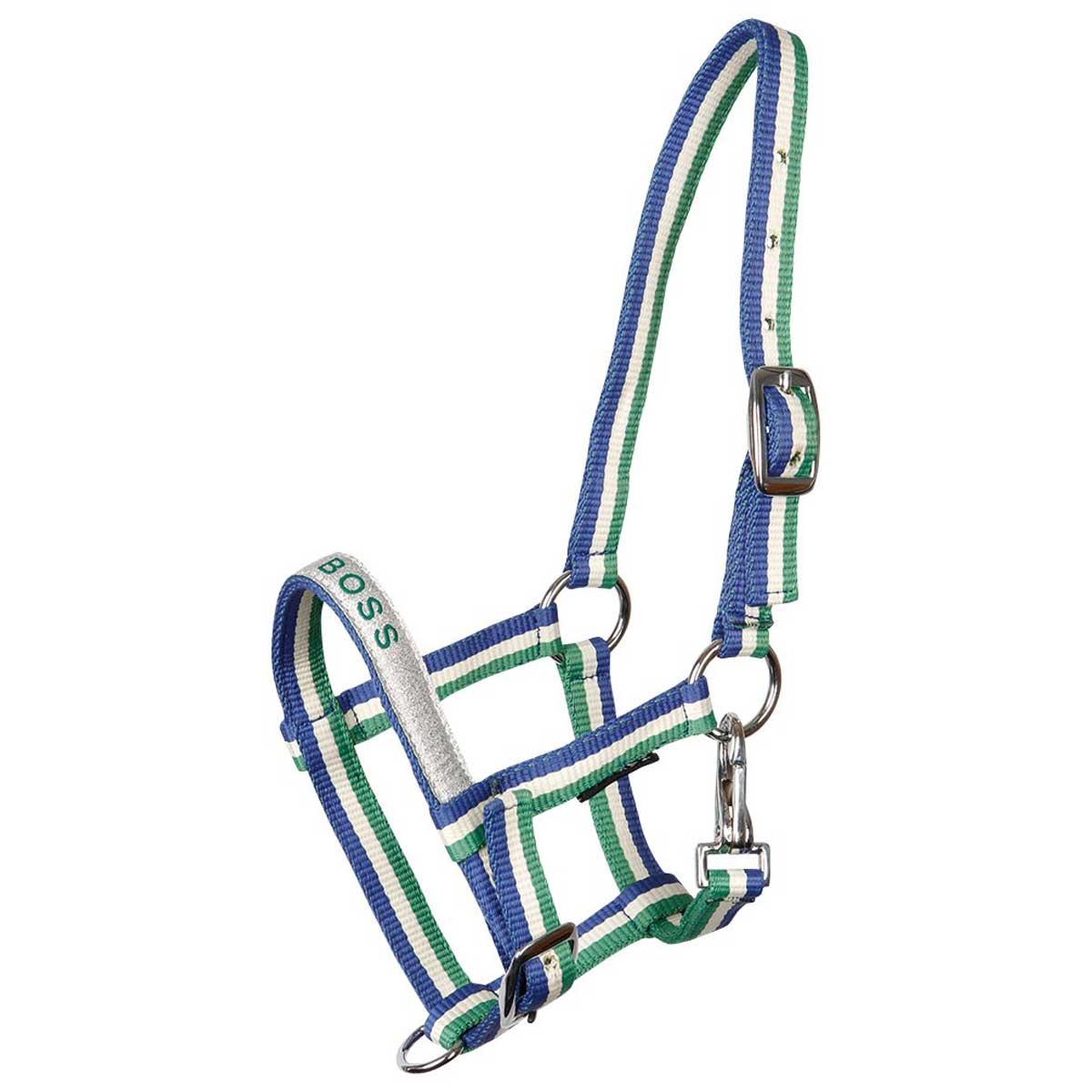 Harrys Horse Veulenhalster VJ20 blauw maat:veulen