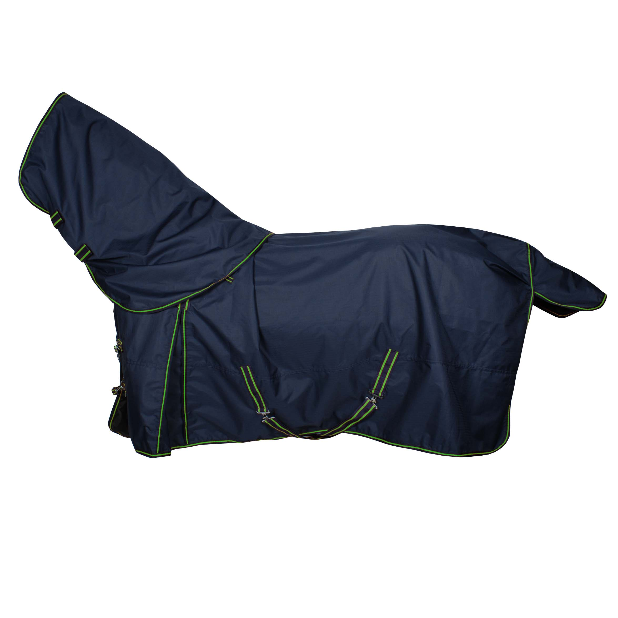 Pagony Outdoordeken Lloro met losse hals 200gr donkerblauw maat:175