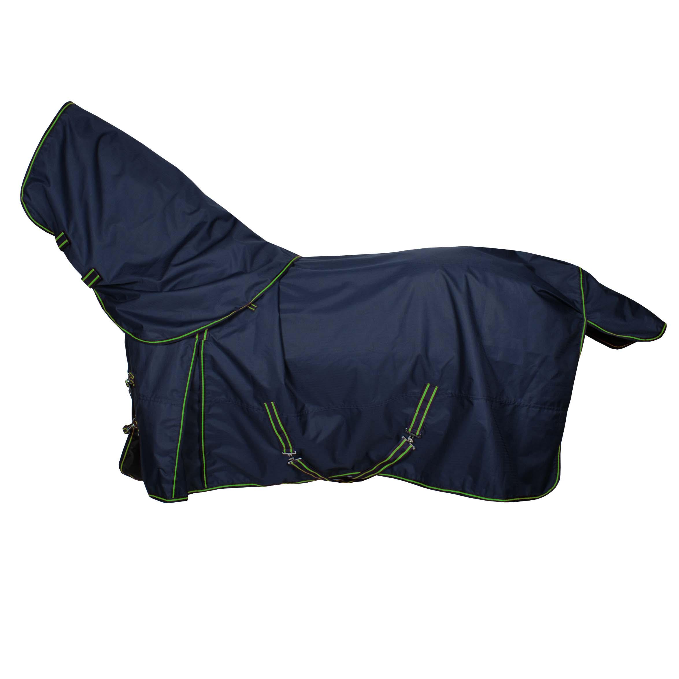Pagony Outdoordeken Lloro met losse hals 200gr donkerblauw maat:195