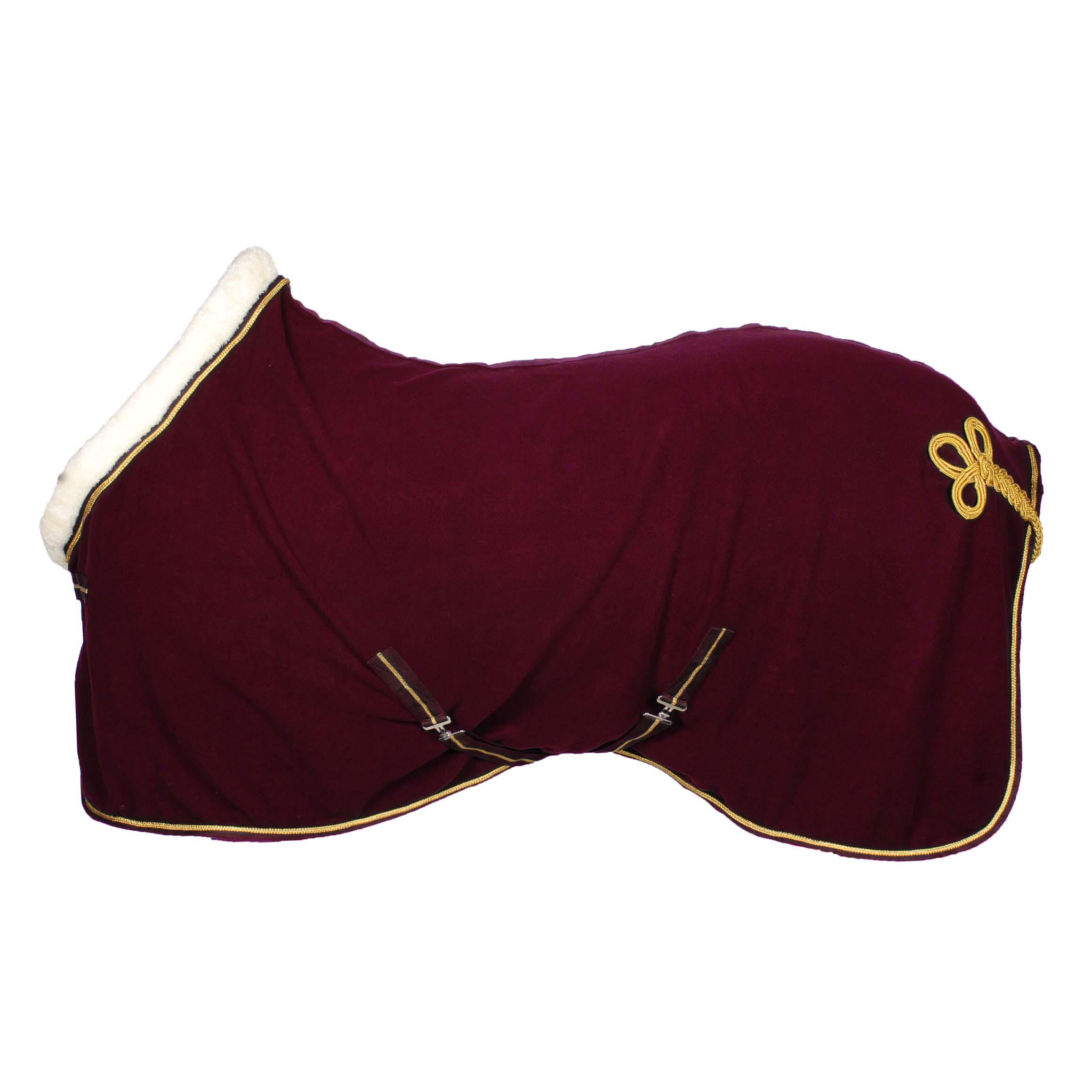 Pagony Collar fleecedeken bordeaux maat:215