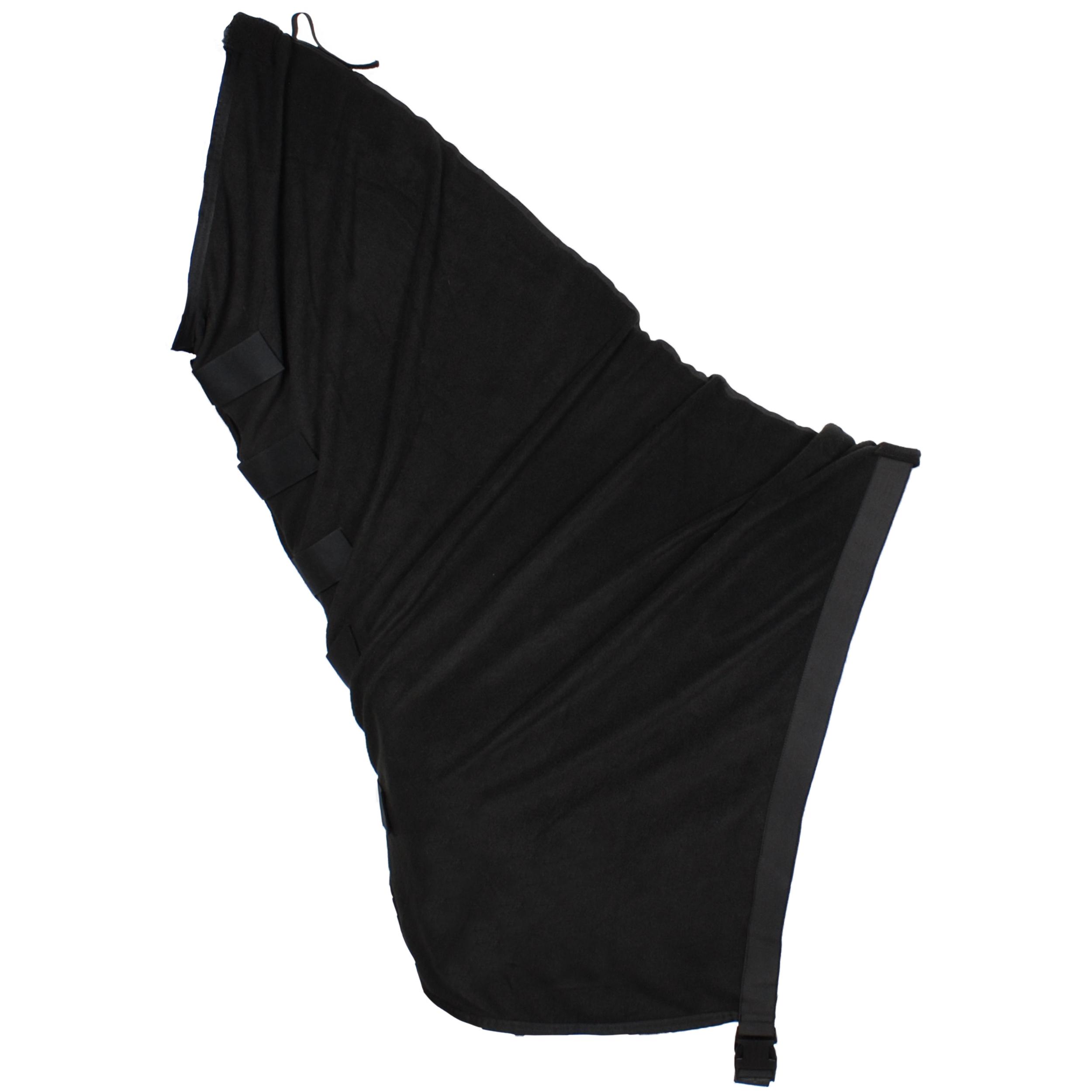Pagony fleece hals/ shoulder cover zwart maat:s