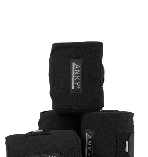 Anky Fleecebandages zwart