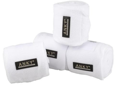 Anky Fleecebandages wit