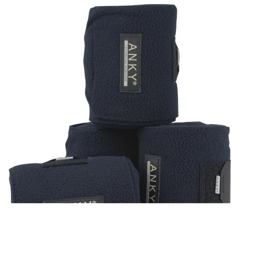 Anky Fleecebandages donkerblauw