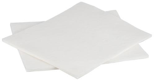 Onderbandages vilt (set van 4) wit