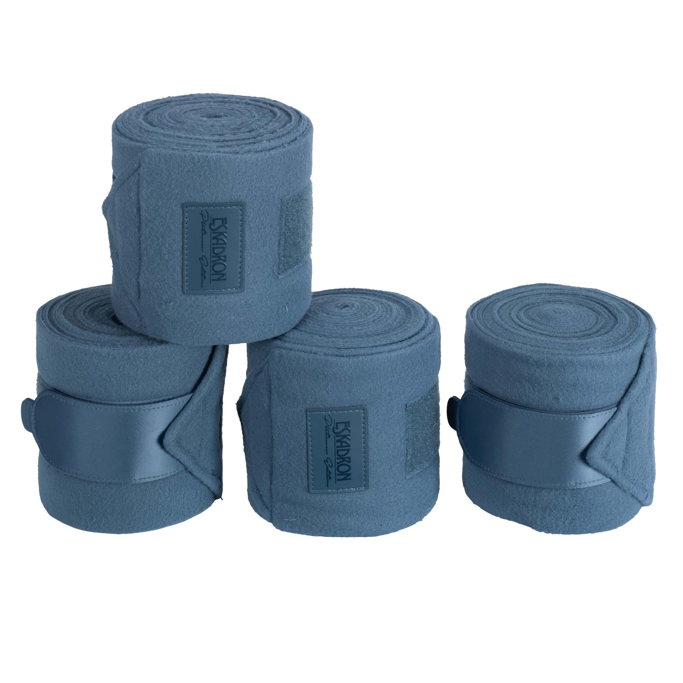 Eskadron Platinum Fleece bandages blauw maat:full