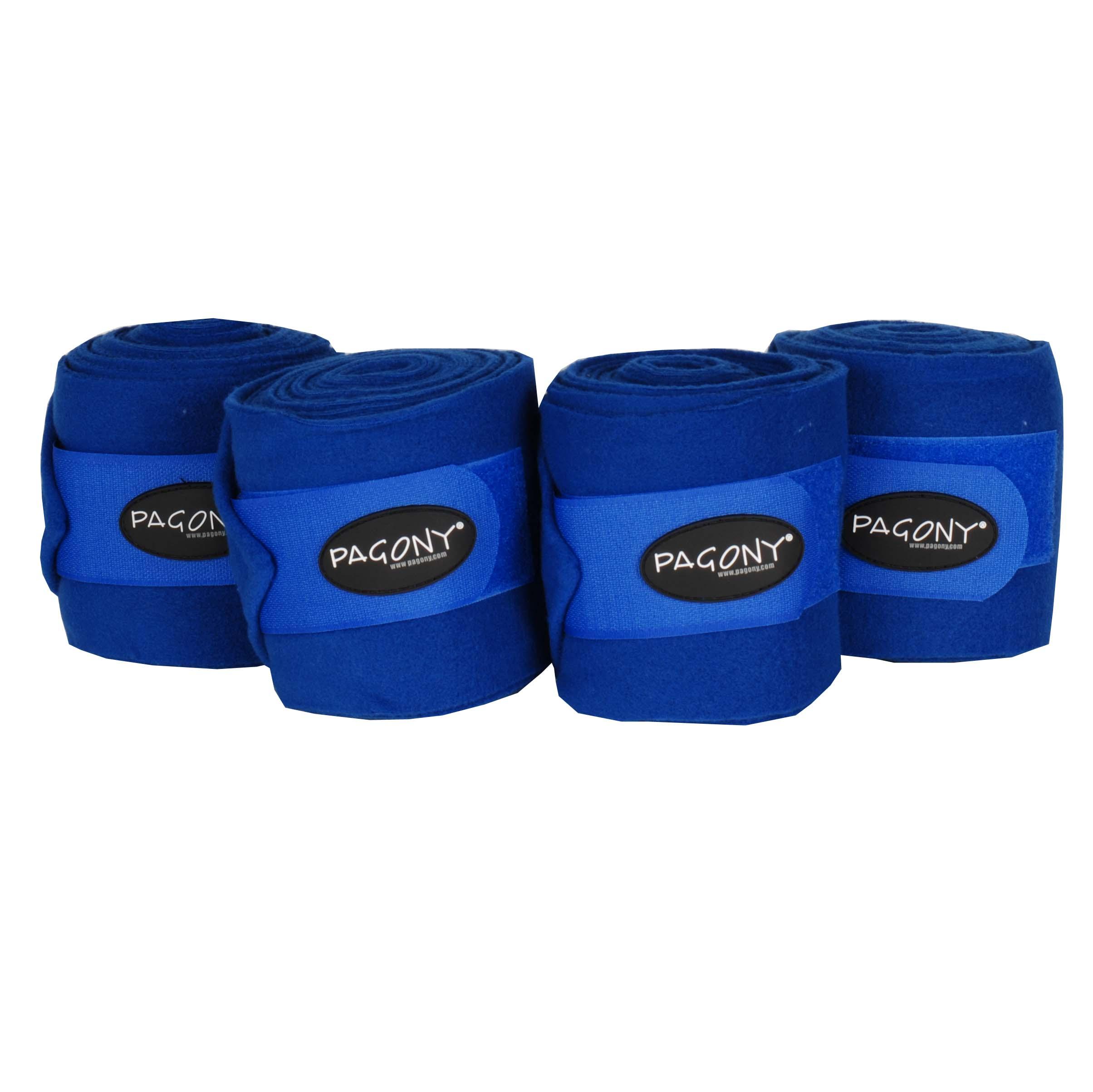 Pagony Fleecebandages kobalt