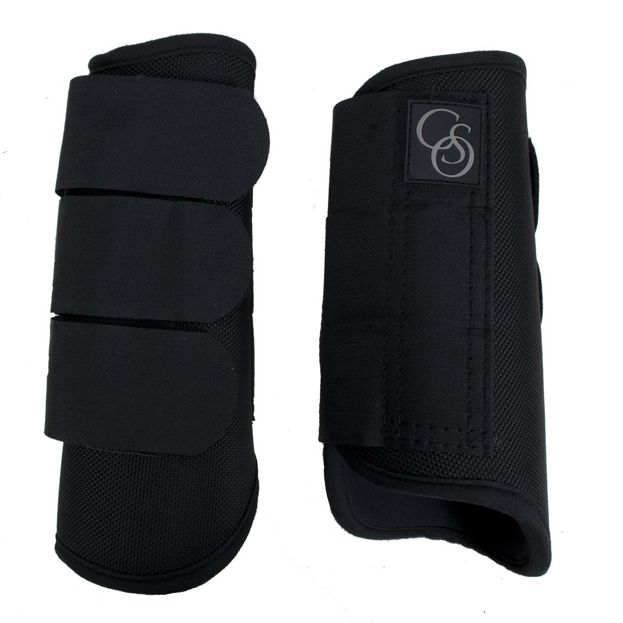 CSO 1680D peesbeschermer zwart maat:m