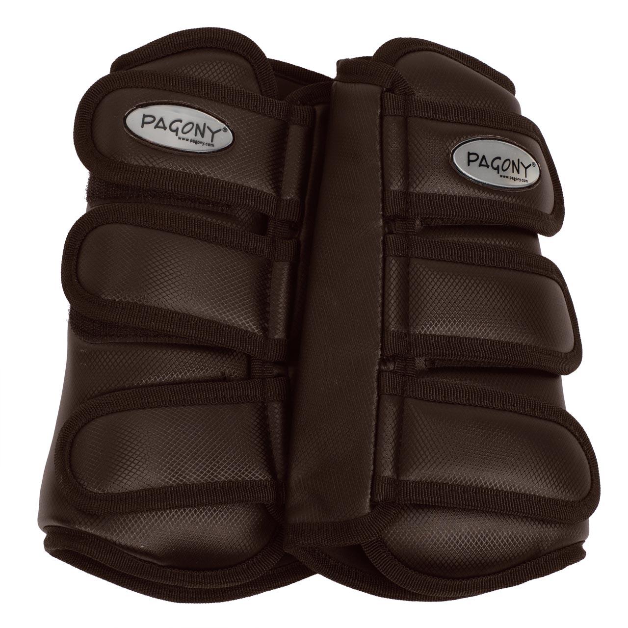 Pagony Dressage Boots voor donkerbruin maat:cob