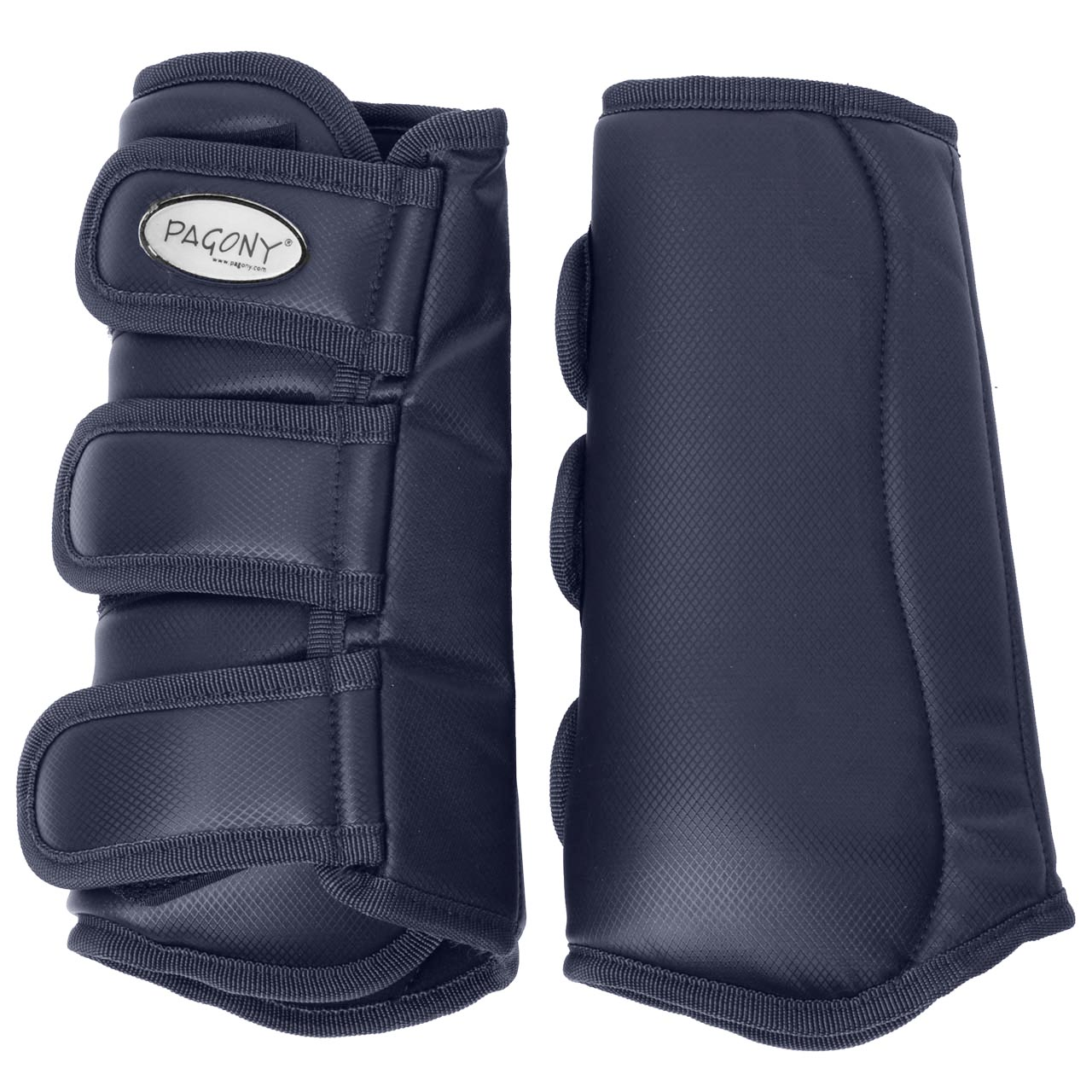Pagony Dressage Boots achter donkerblauw maat:cob