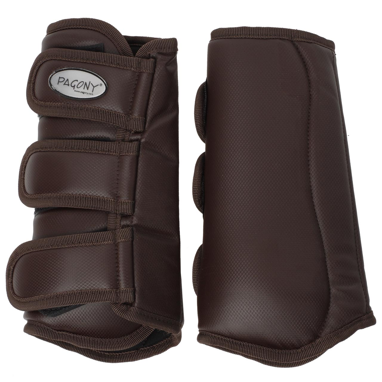 Pagony Dressage Boots achter donkerbruin maat:full