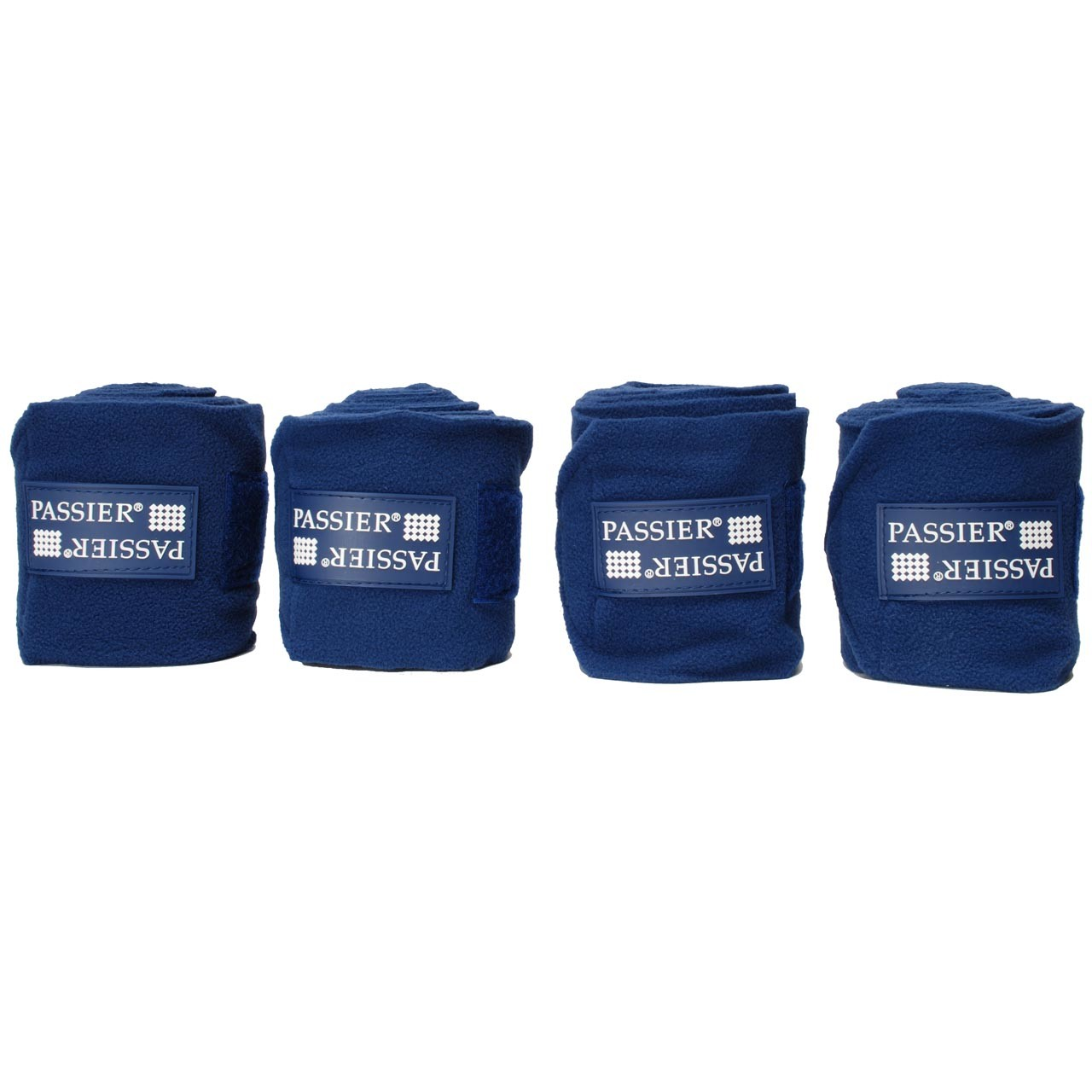 Passier fleece bandages donkerblauw maat:full