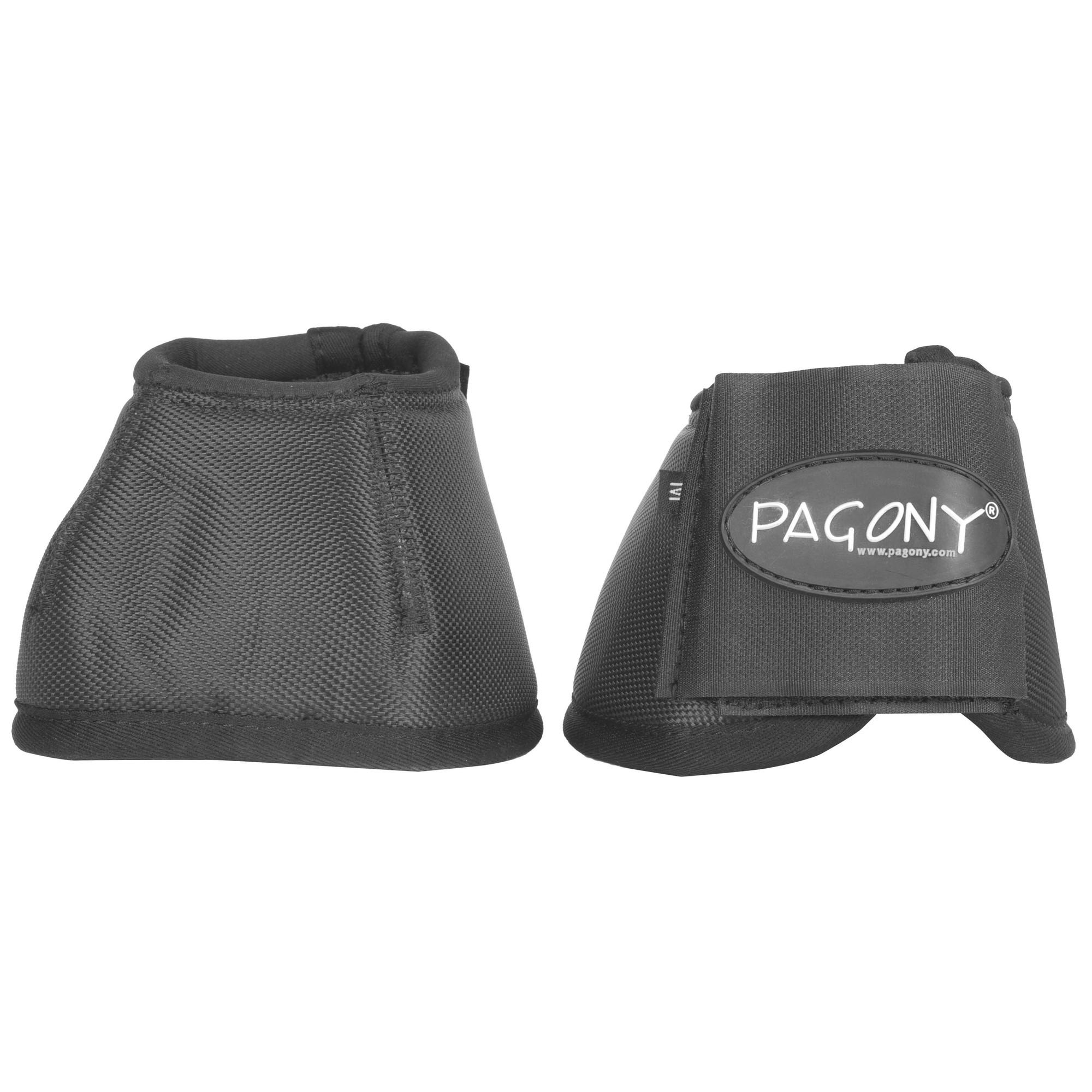 Pagony Champion springschoenen zwart maat:s