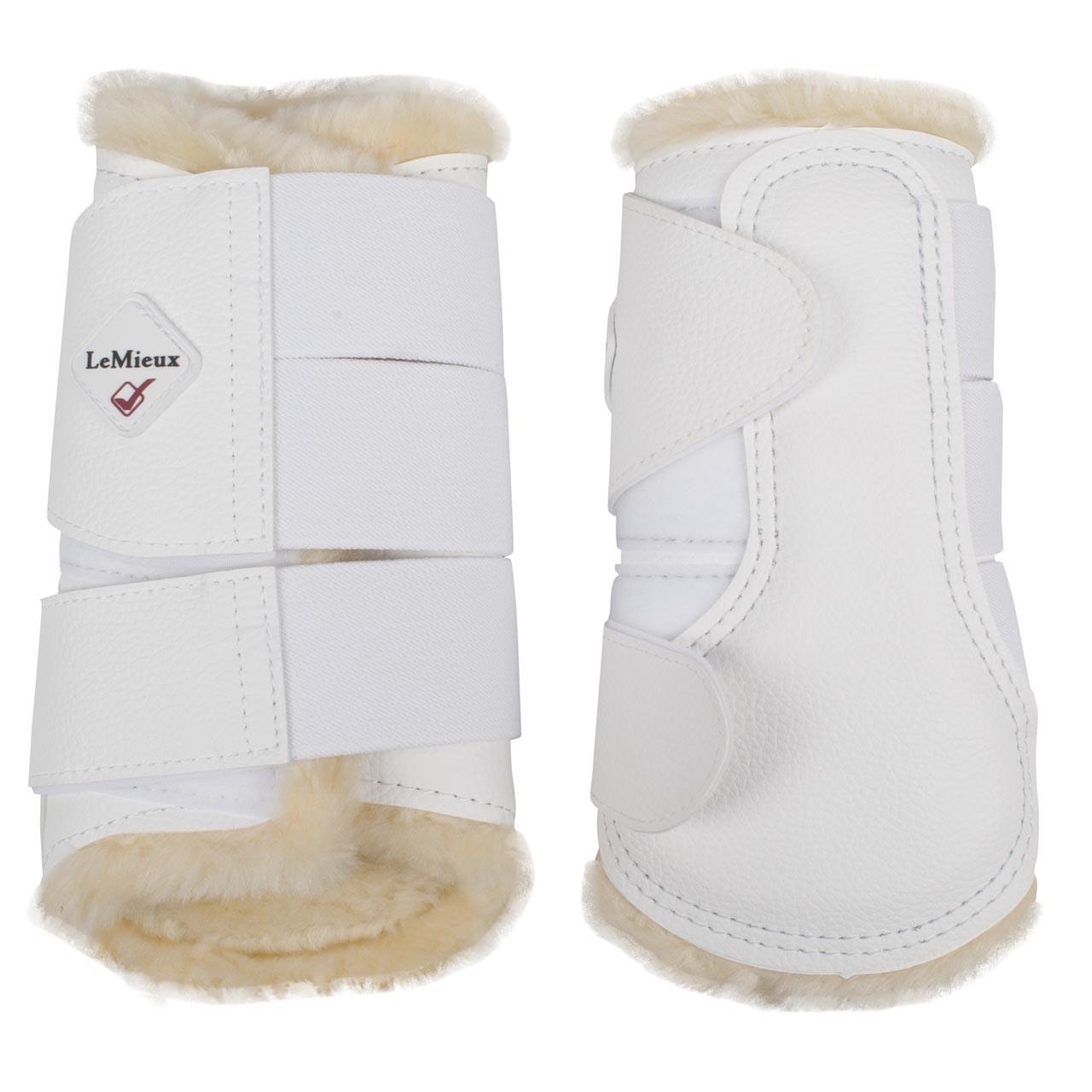LeMieux Brushing Boots beenbeschermer wit maat:xl