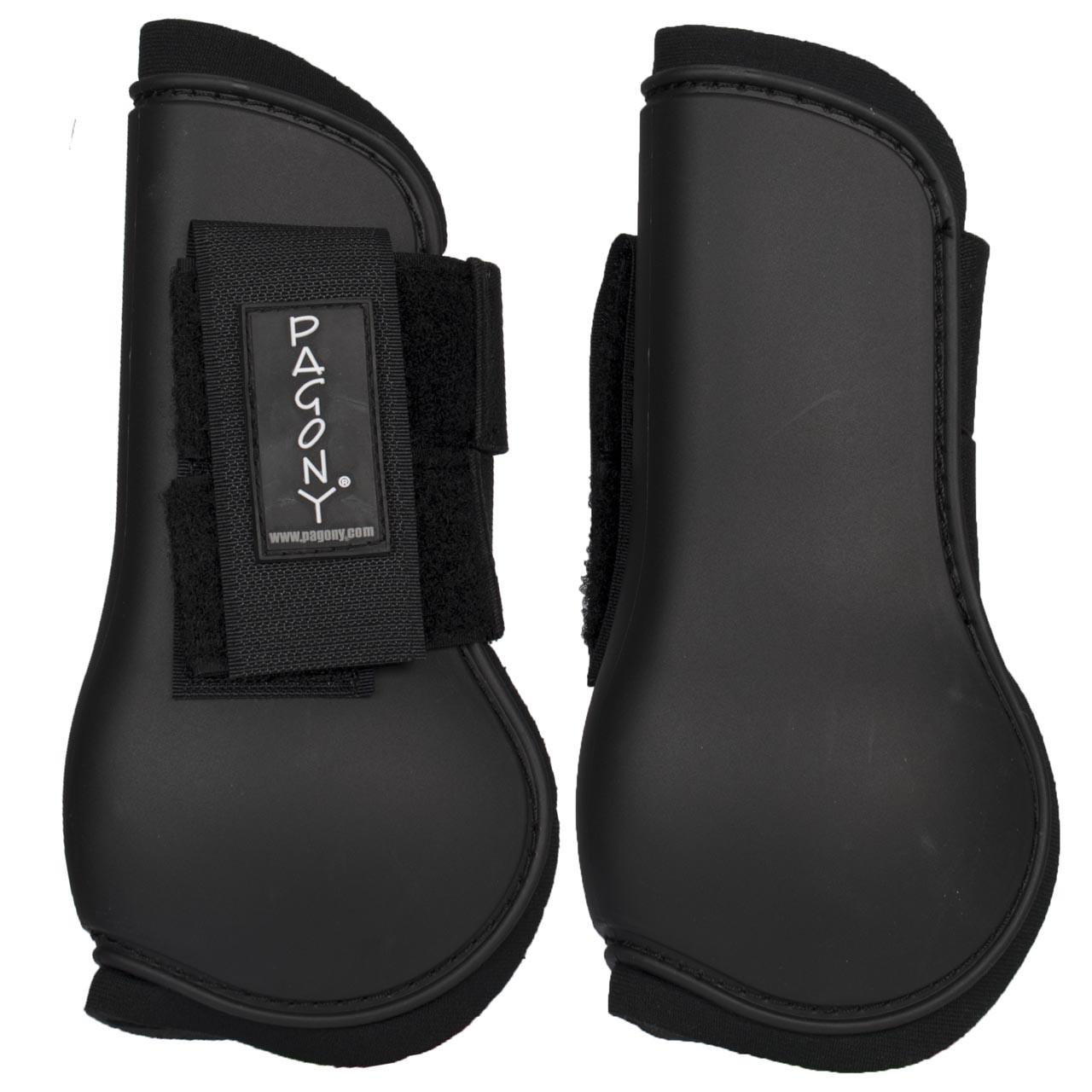 Pagony Mini peesbeschermers zwart maat:shetl