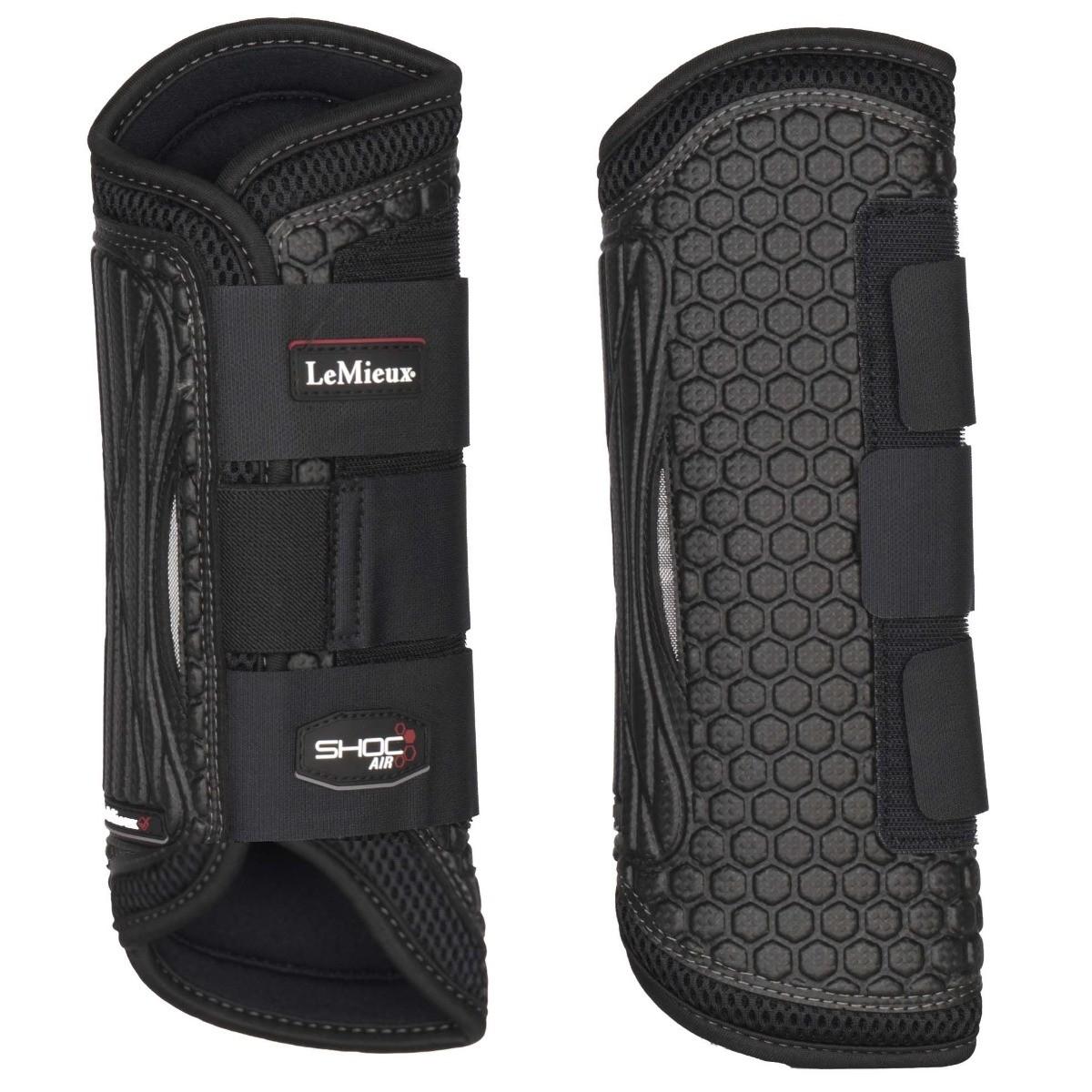 LeMieux ShocAir beenbeschermers achter zwart maat:l
