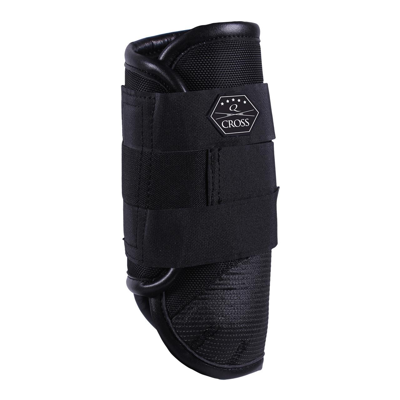 QHP QCross Kevlar V eventing beschermers zwart maat:s