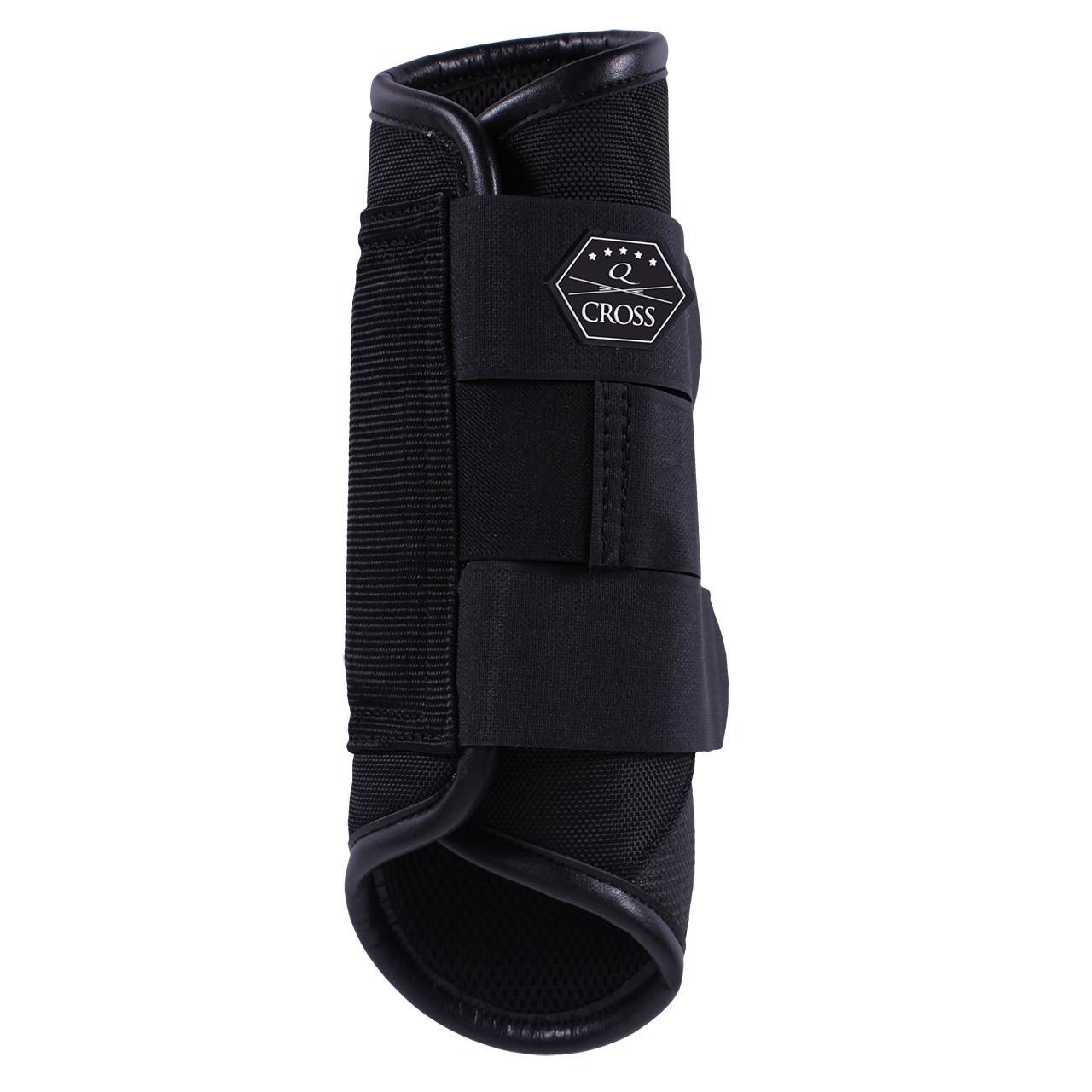 QHP QCross Kevlar A eventing beschermers zwart maat:s