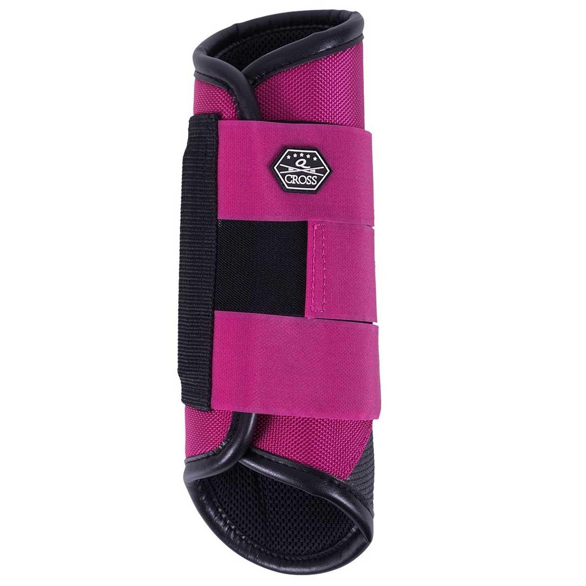 QHP QCross Kevlar A eventing beschermers paars maat:m