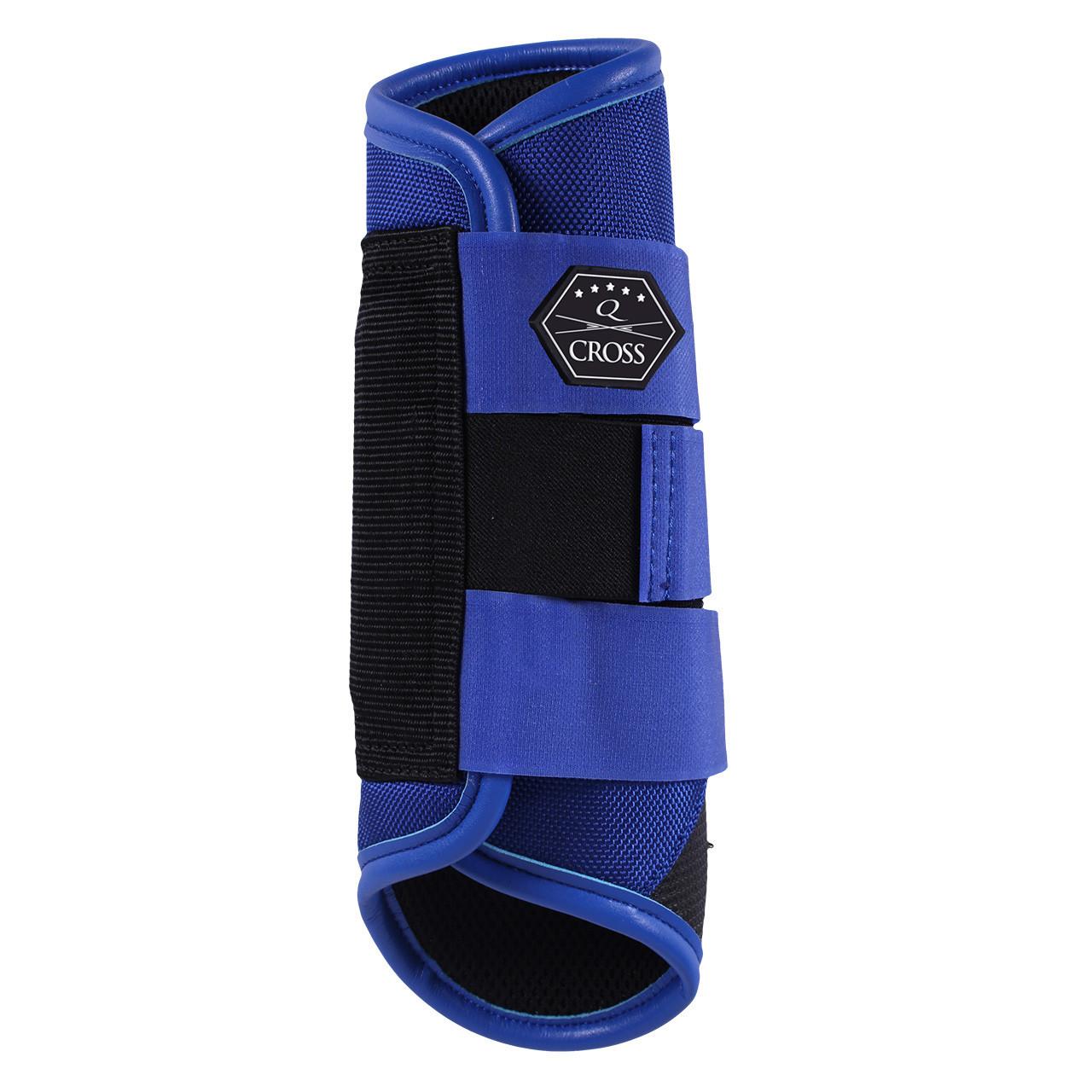 QHP QCross Kevlar A eventing beschermers kobalt maat:xl