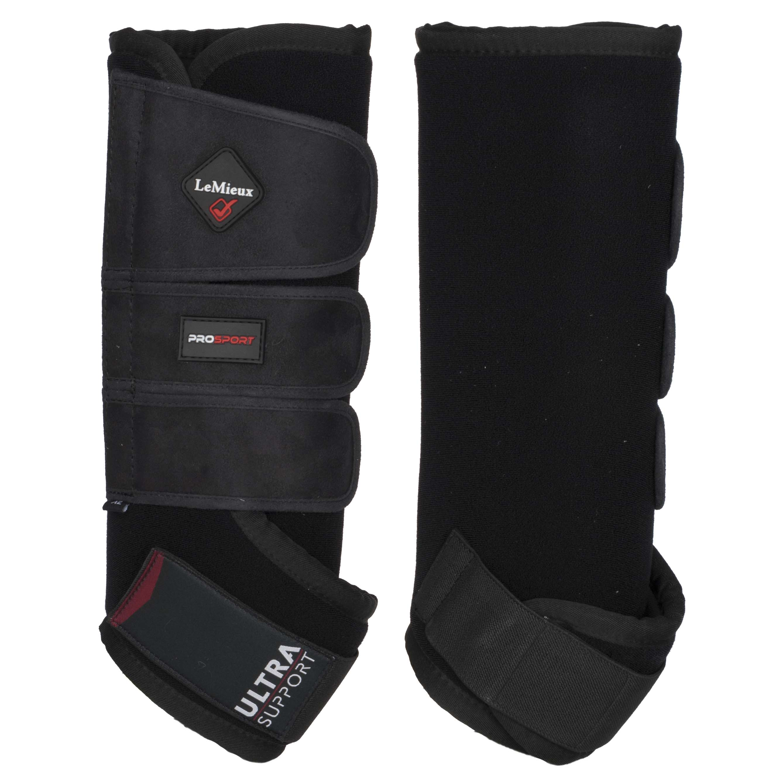 LeMieux ProSport Ultra Support Boots zwart maat:l