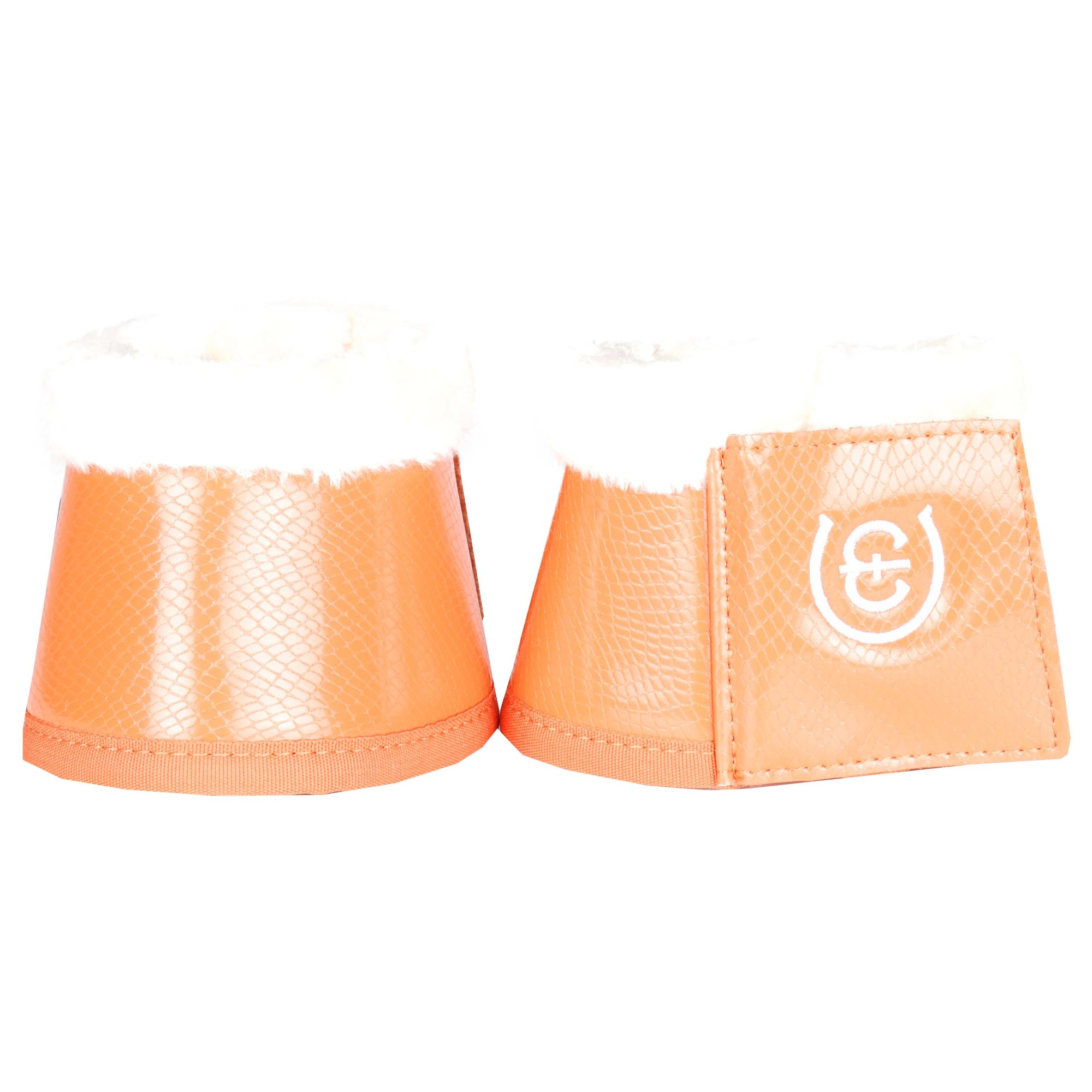 EQ springschoenen oranje maat:l