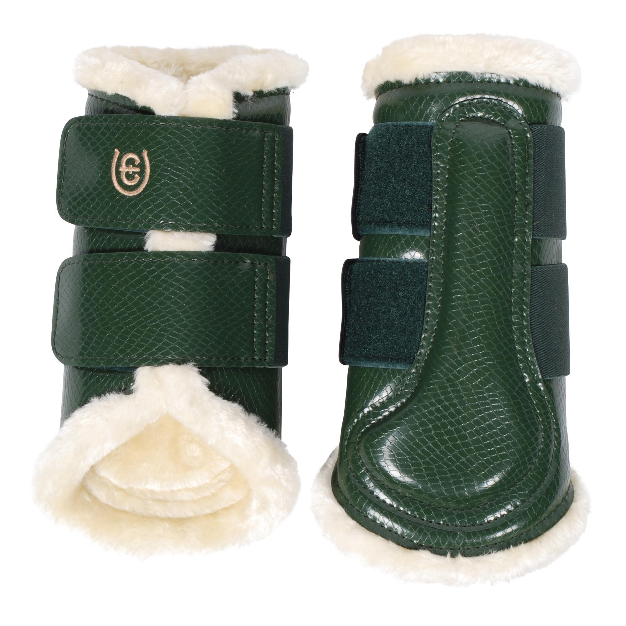 EQ beenbeschermers achter groen maat:l
