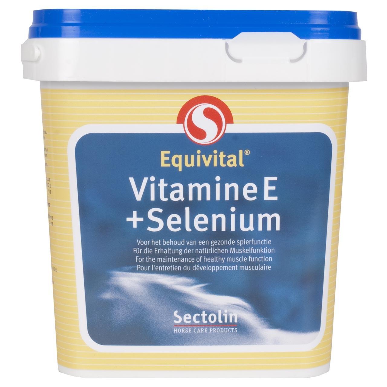 Sectolin Equitvital Vitamine seleen E 1kg