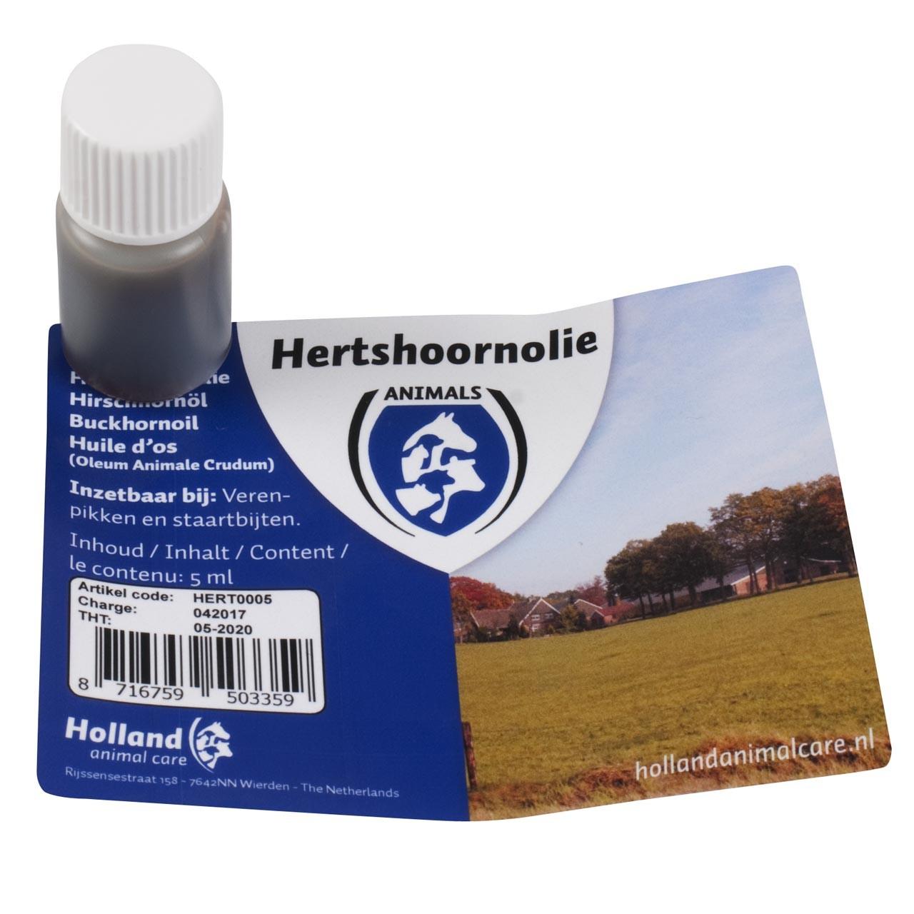 Hertshoornolie