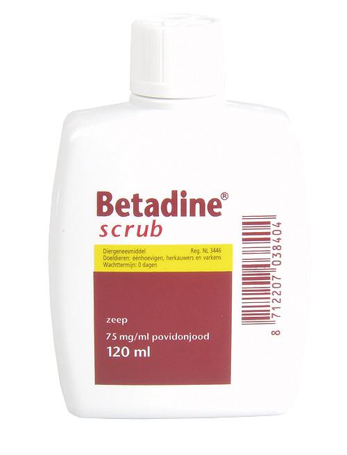 Betadine scrub maat:120