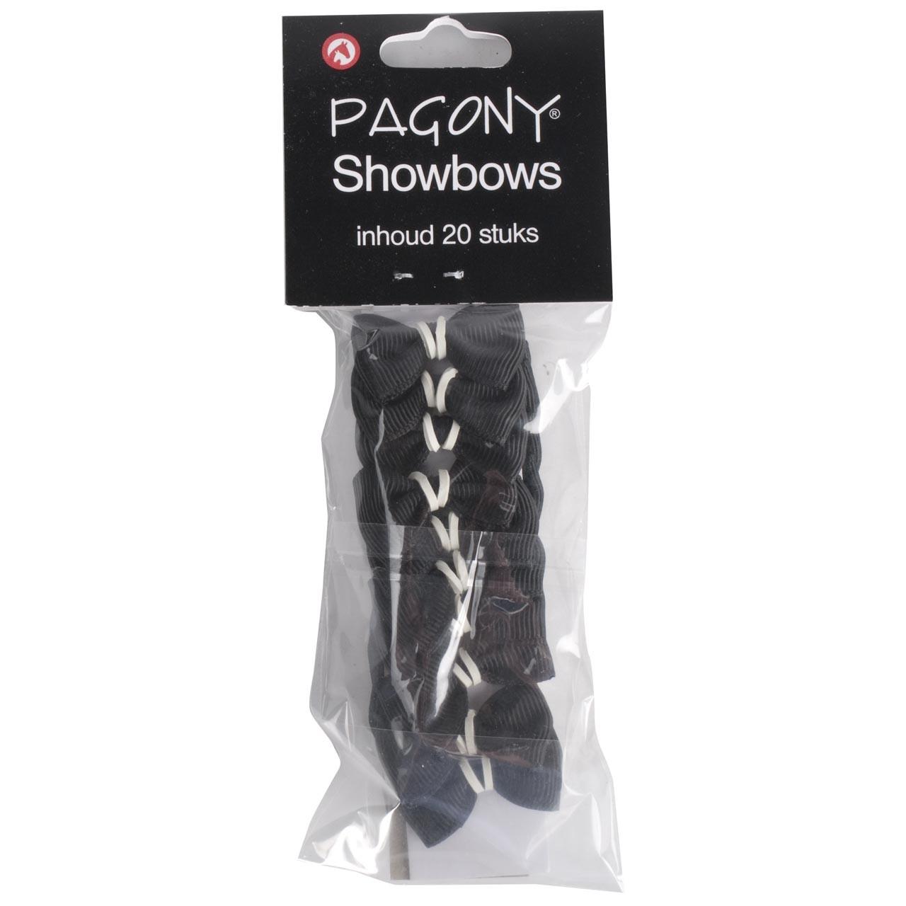 Showbows zwart