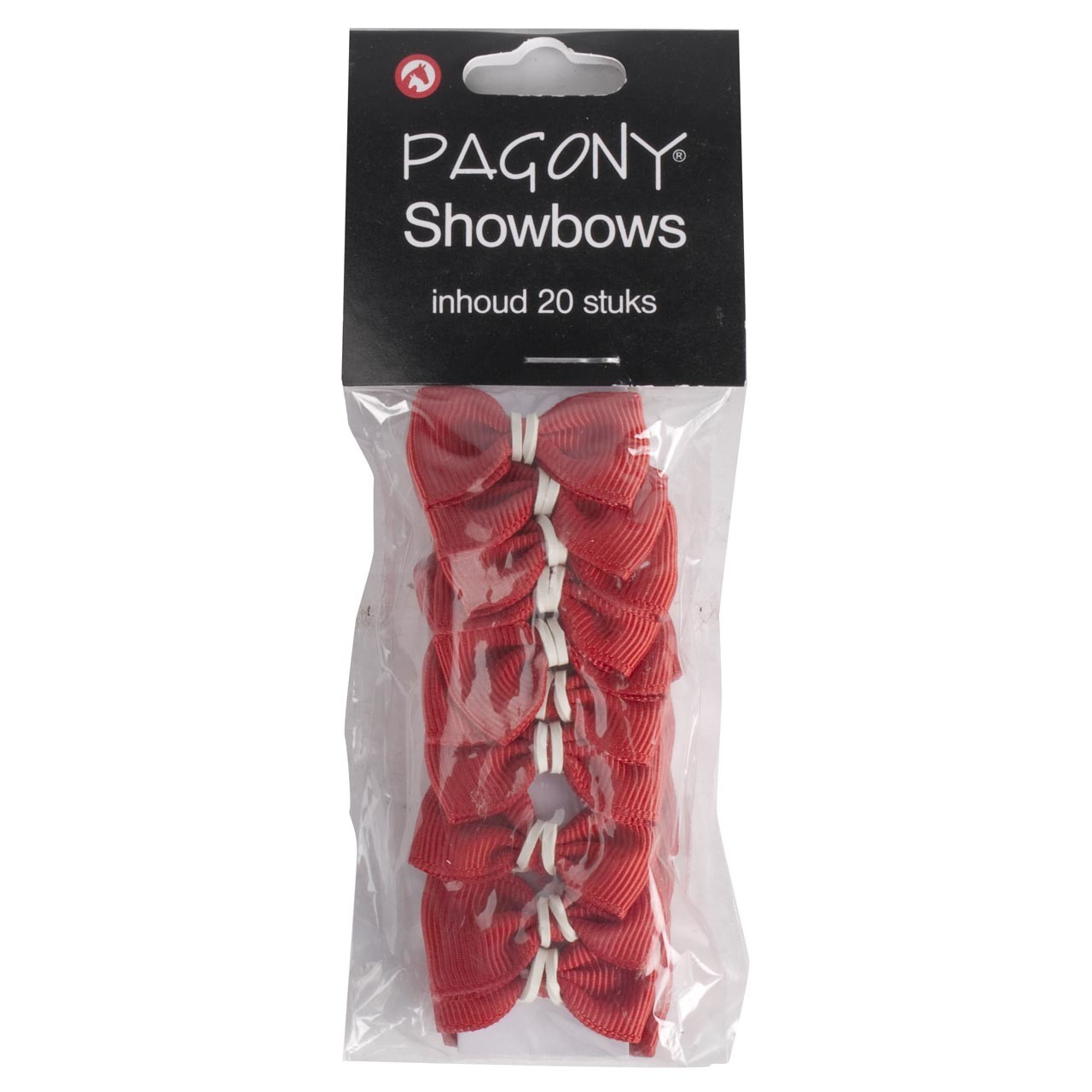 Showbows rood