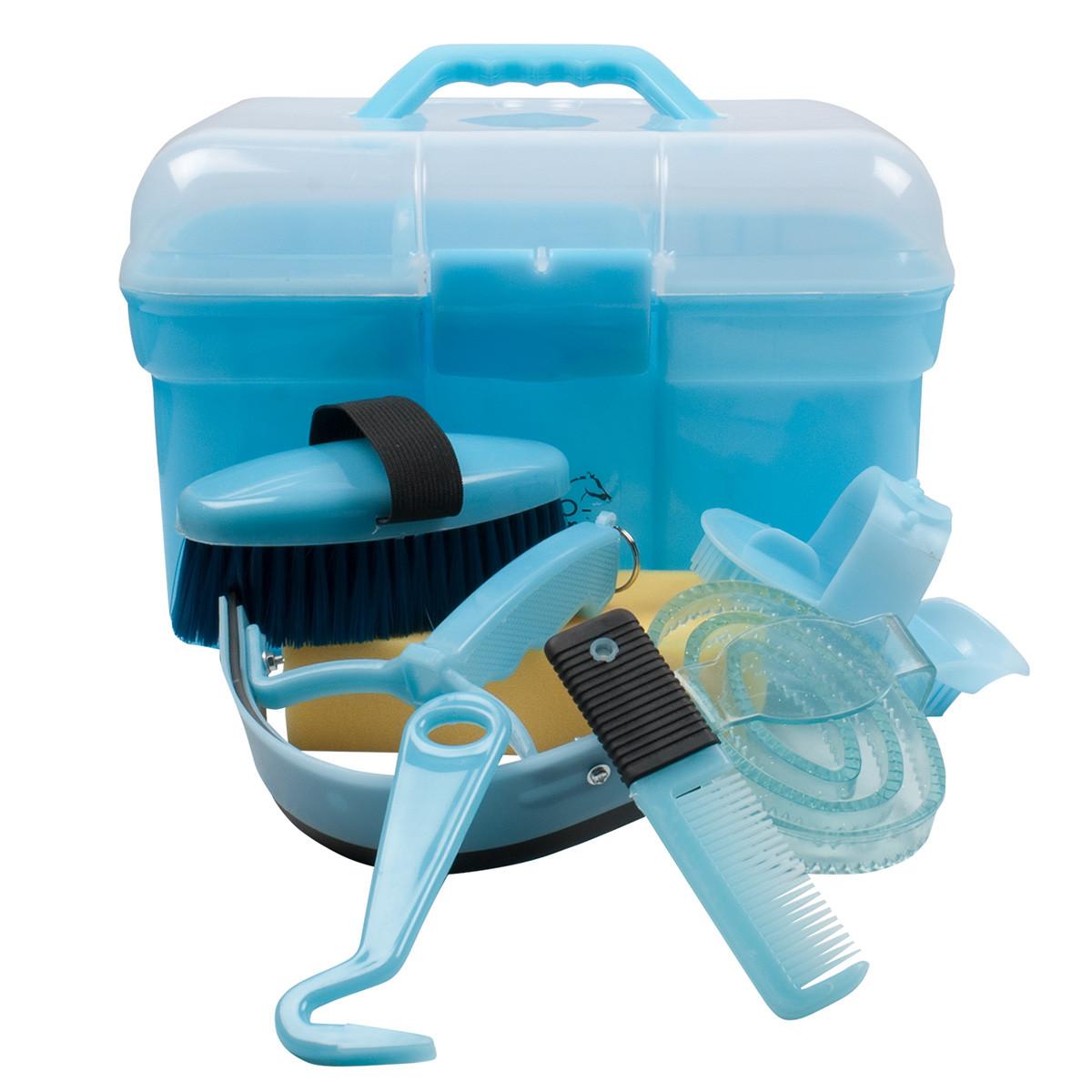 Hippo-Tonic Poetsbox gevuld klein lichtblauw