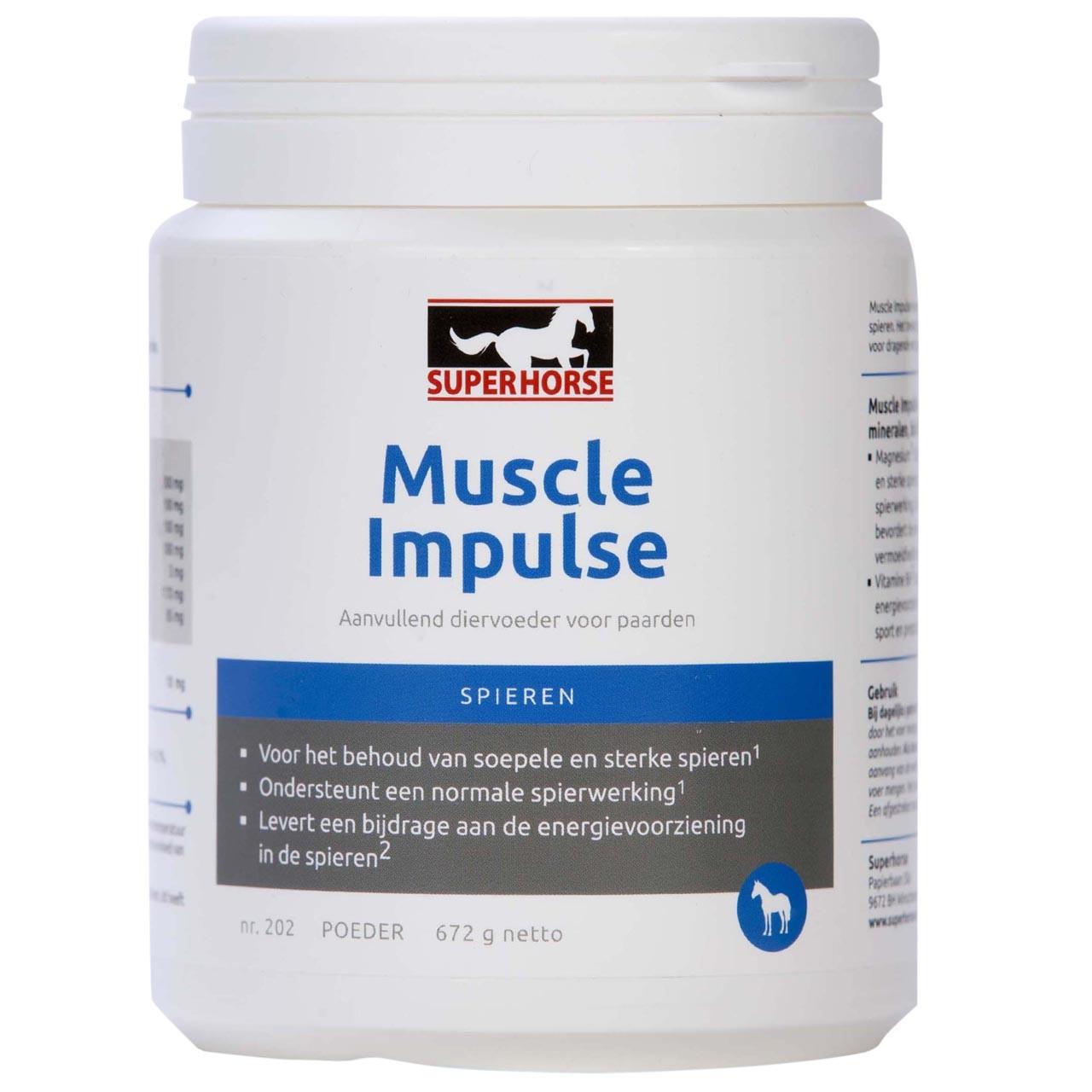 SuperHorse Muscle Impulse 672Gr