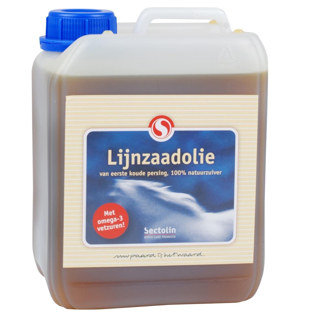 Sectolin Lijnzaadolie 2.5L